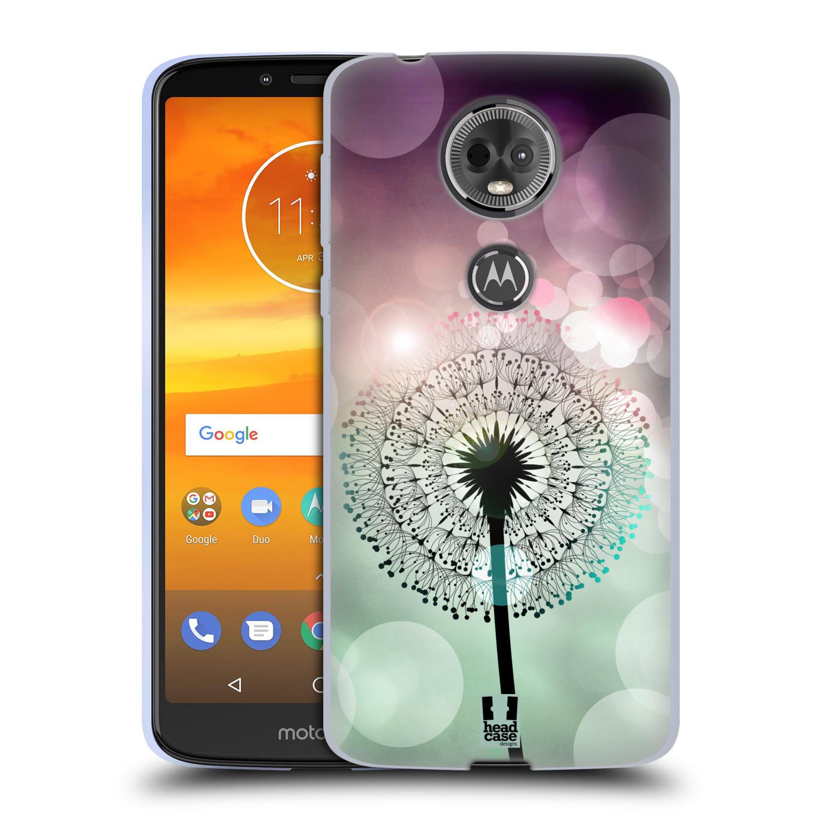 Silikonové pouzdro na mobil Motorola Moto E5 Plus - Head Case - Pampeliškové odlesky