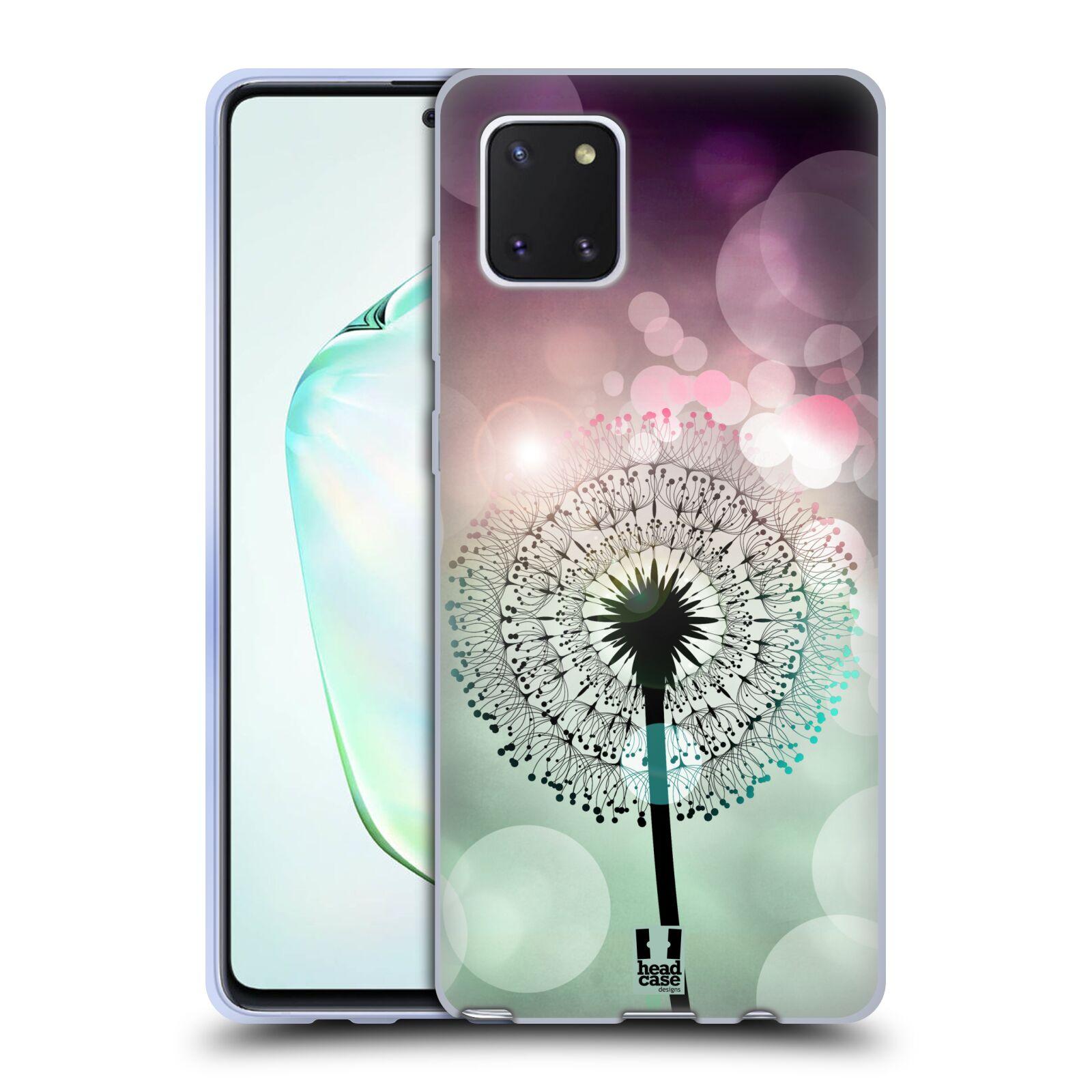 Silikonové pouzdro na mobil Samsung Galaxy Note 10 Lite - Head Case - Pampeliškové odlesky