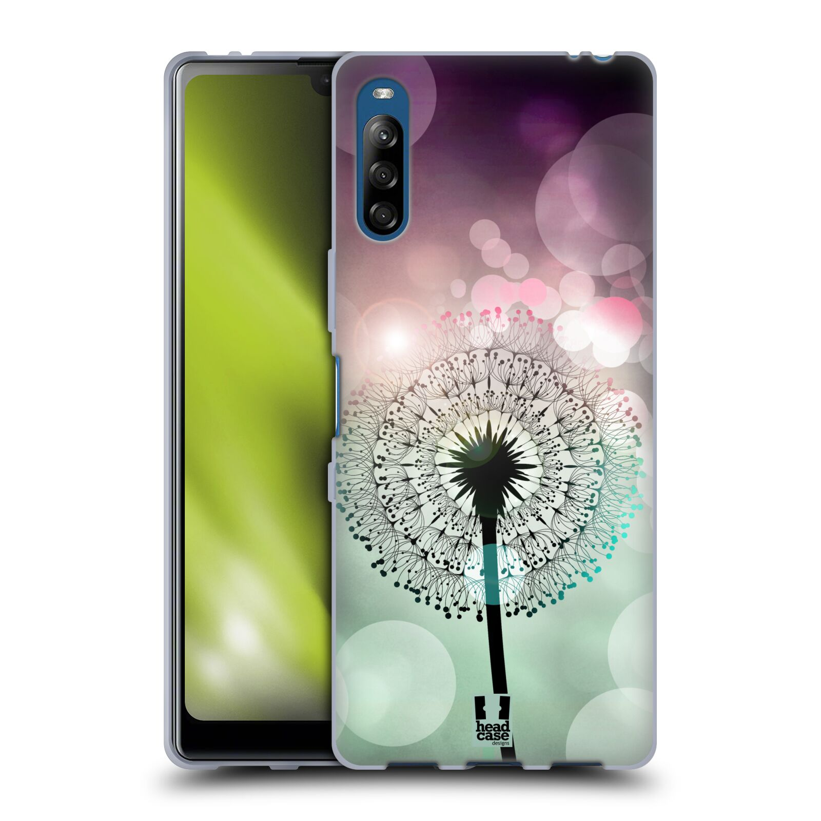 Silikonové pouzdro na mobil Sony Xperia L4 - Head Case - Pampeliškové odlesky
