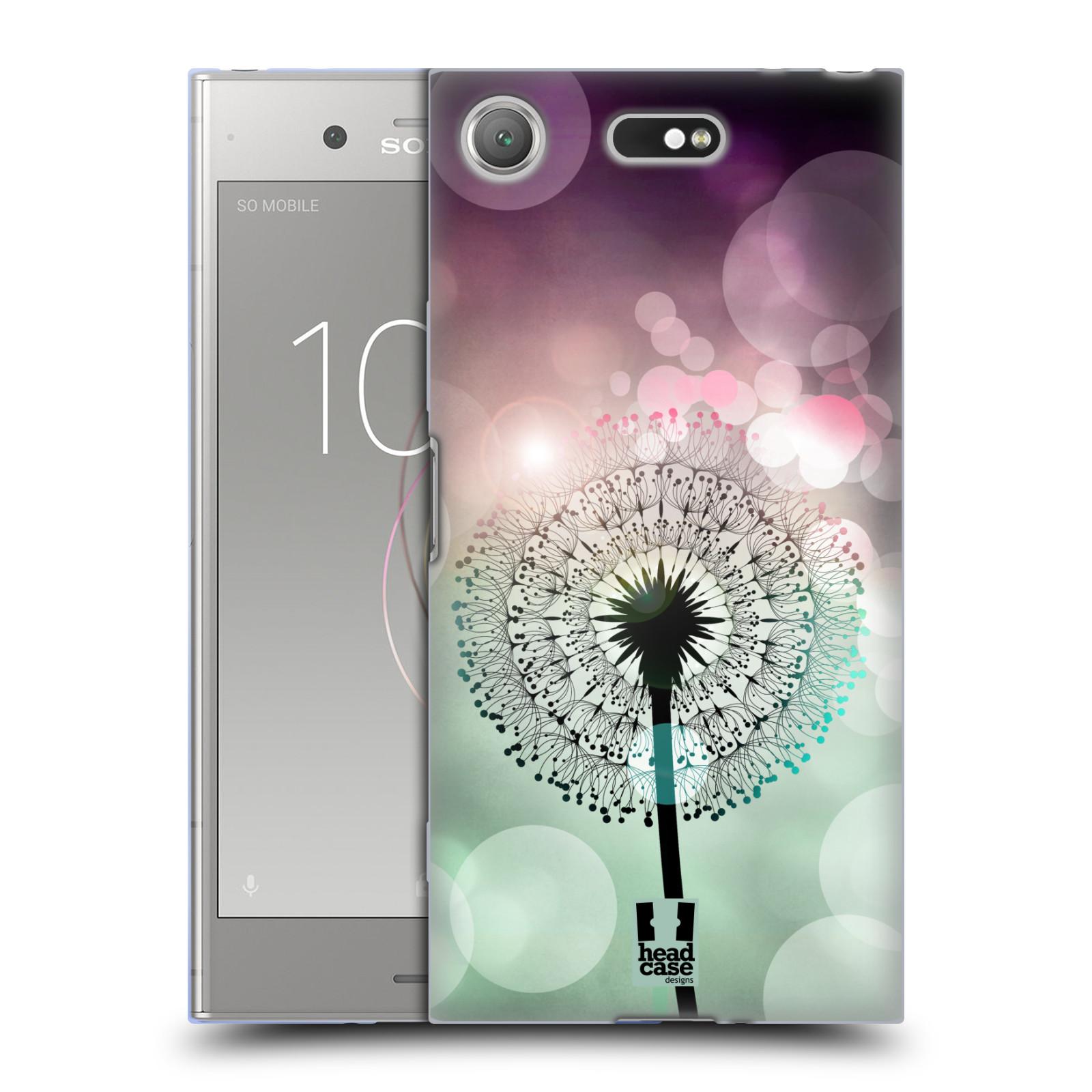 Silikonové pouzdro na mobil Sony Xperia XZ1 Compact - Head Case - Pampeliškové odlesky