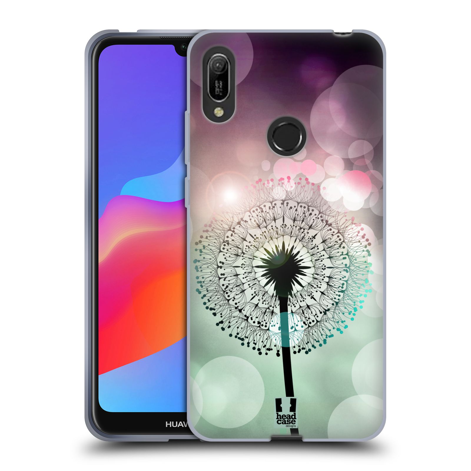 Silikonové pouzdro na mobil Huawei Y6 (2019) - Head Case - Pampeliškové odlesky