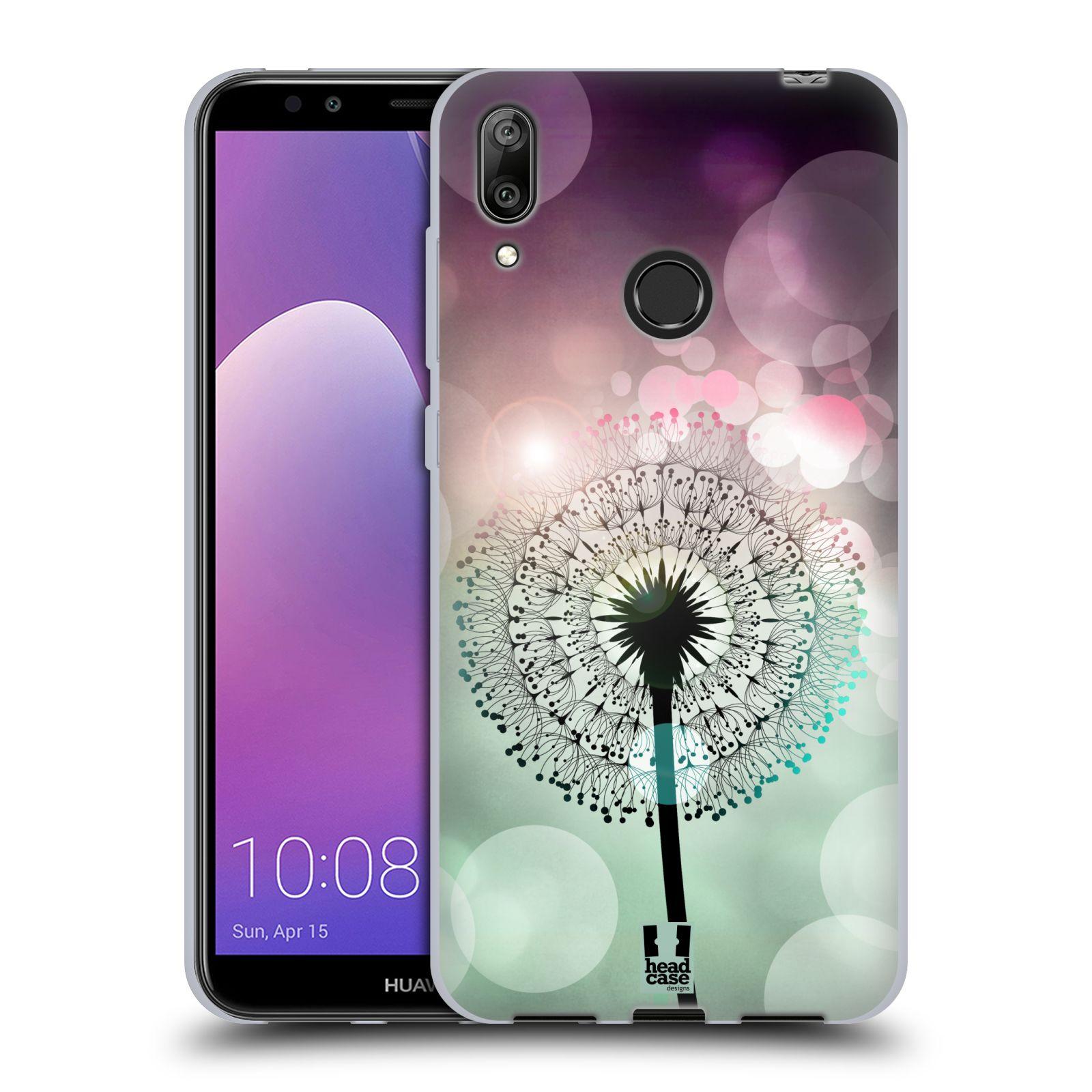 Silikonové pouzdro na mobil Huawei Y7 (2019) - Head Case - Pampeliškové odlesky
