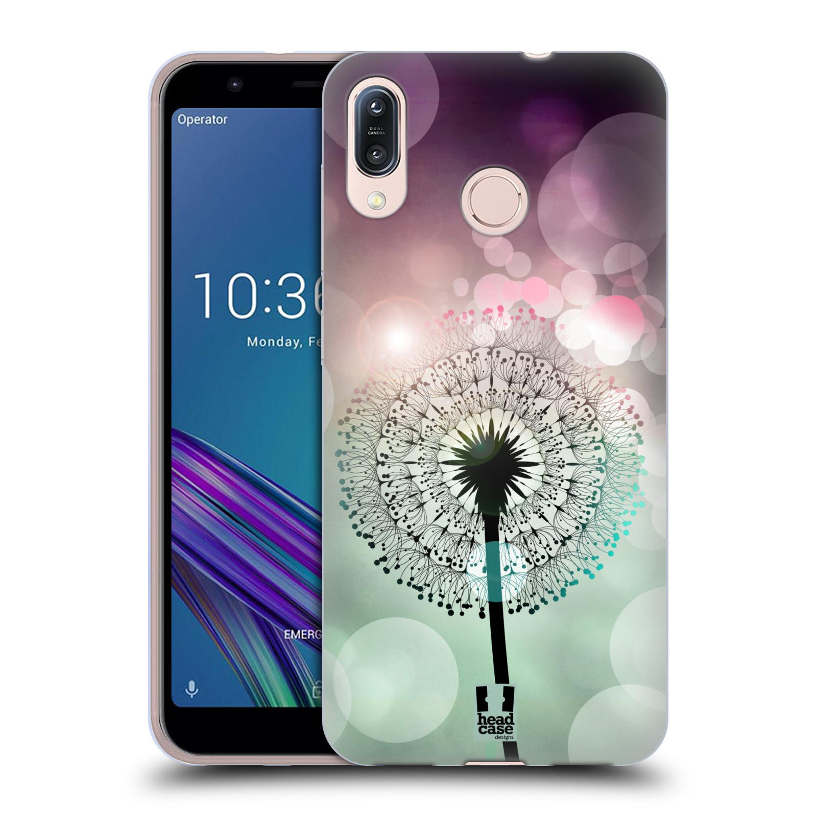 Silikonové pouzdro na mobil Asus Zenfone Max M1 ZB555KL - Head Case - Pampeliškové odlesky