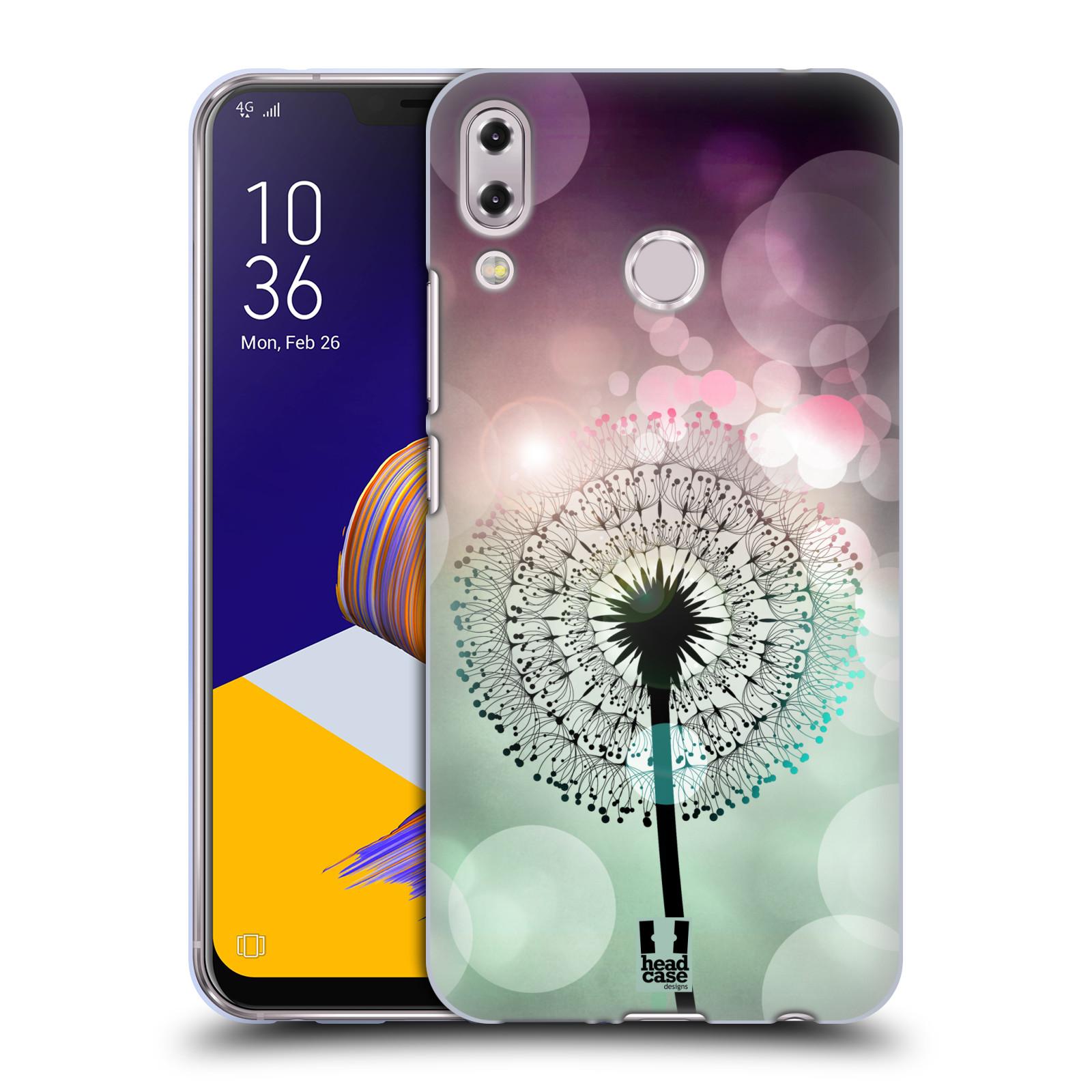 Silikonové pouzdro na mobil Asus Zenfone 5z ZS620KL - Head Case - Pampeliškové odlesky