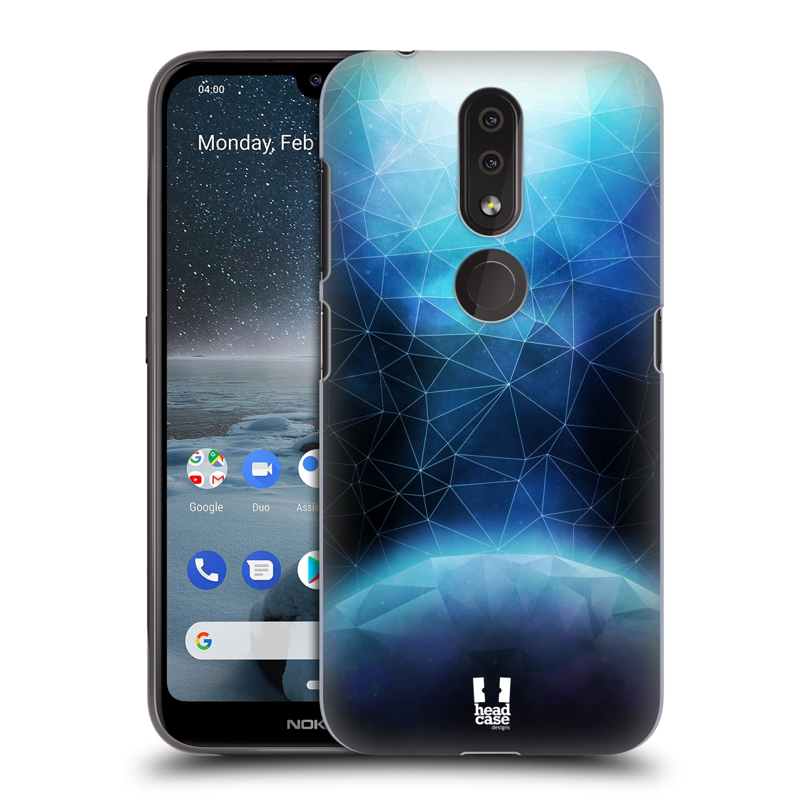 Plastové pouzdro na mobil Nokia 4.2 - Head Case - UNIVERSE ABSORB
