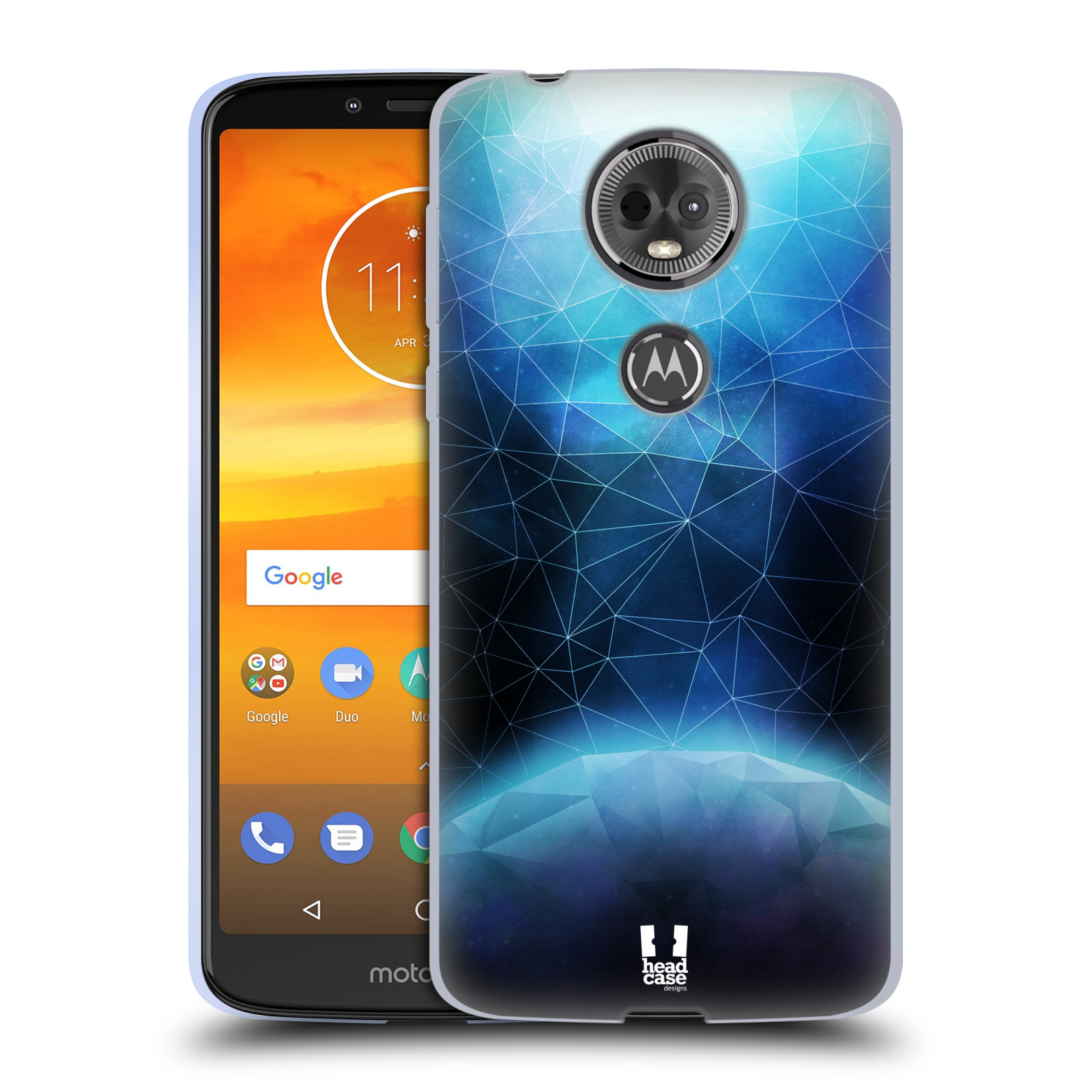 Silikonové pouzdro na mobil Motorola Moto E5 Plus - Head Case - UNIVERSE ABSORB