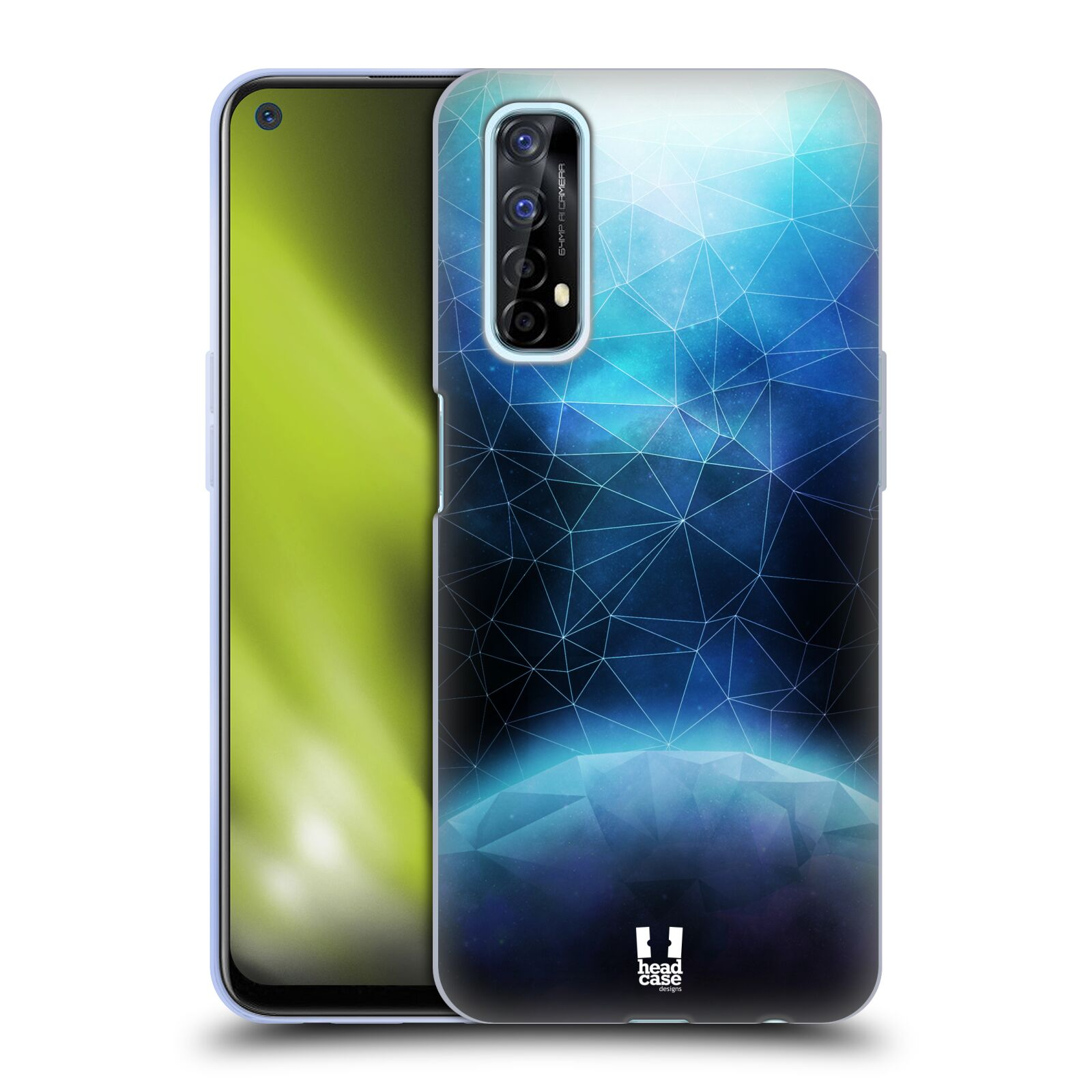 Silikonové pouzdro na mobil Realme 7 - Head Case - UNIVERSE ABSORB
