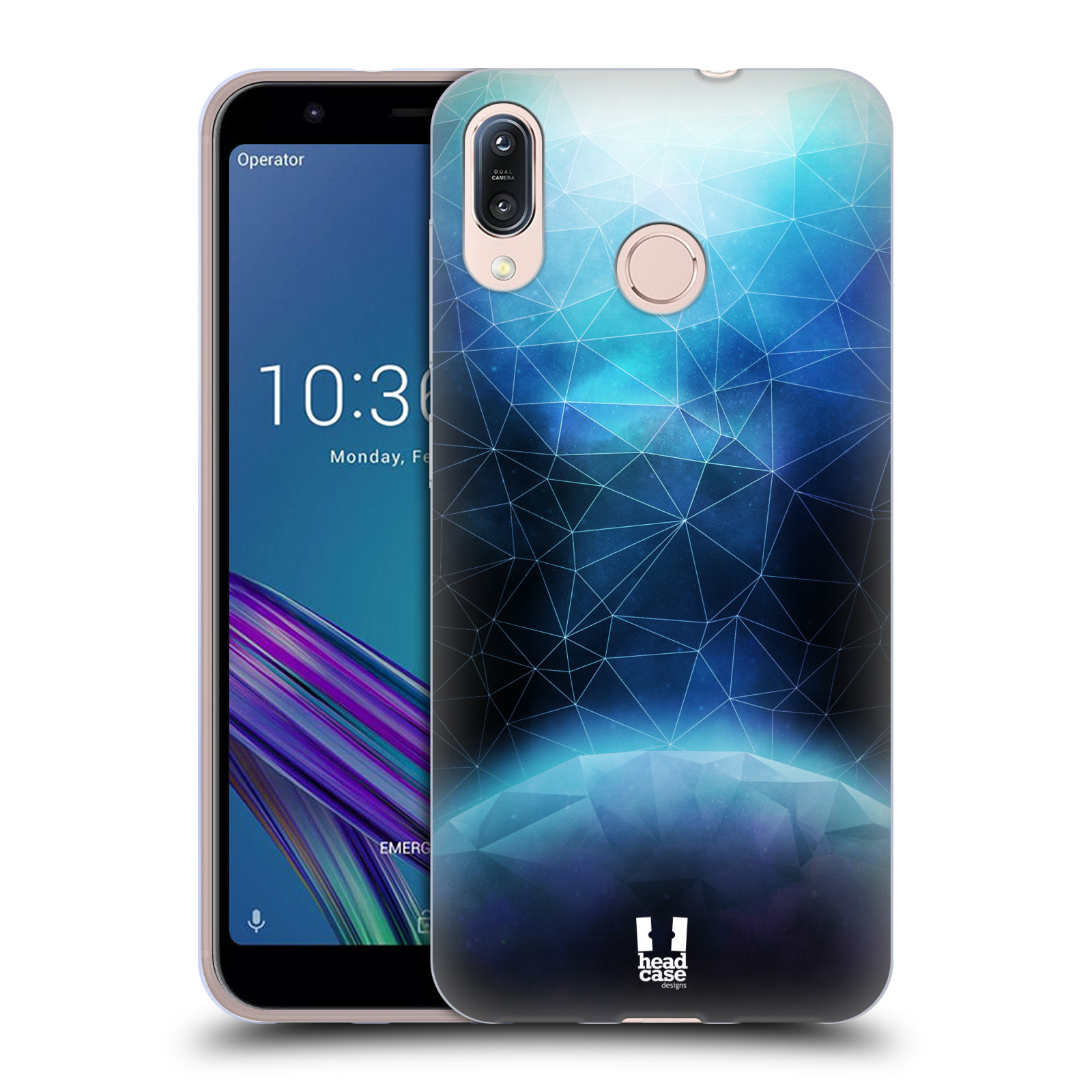 Silikonové pouzdro na mobil Asus Zenfone Max M1 ZB555KL - Head Case - UNIVERSE ABSORB