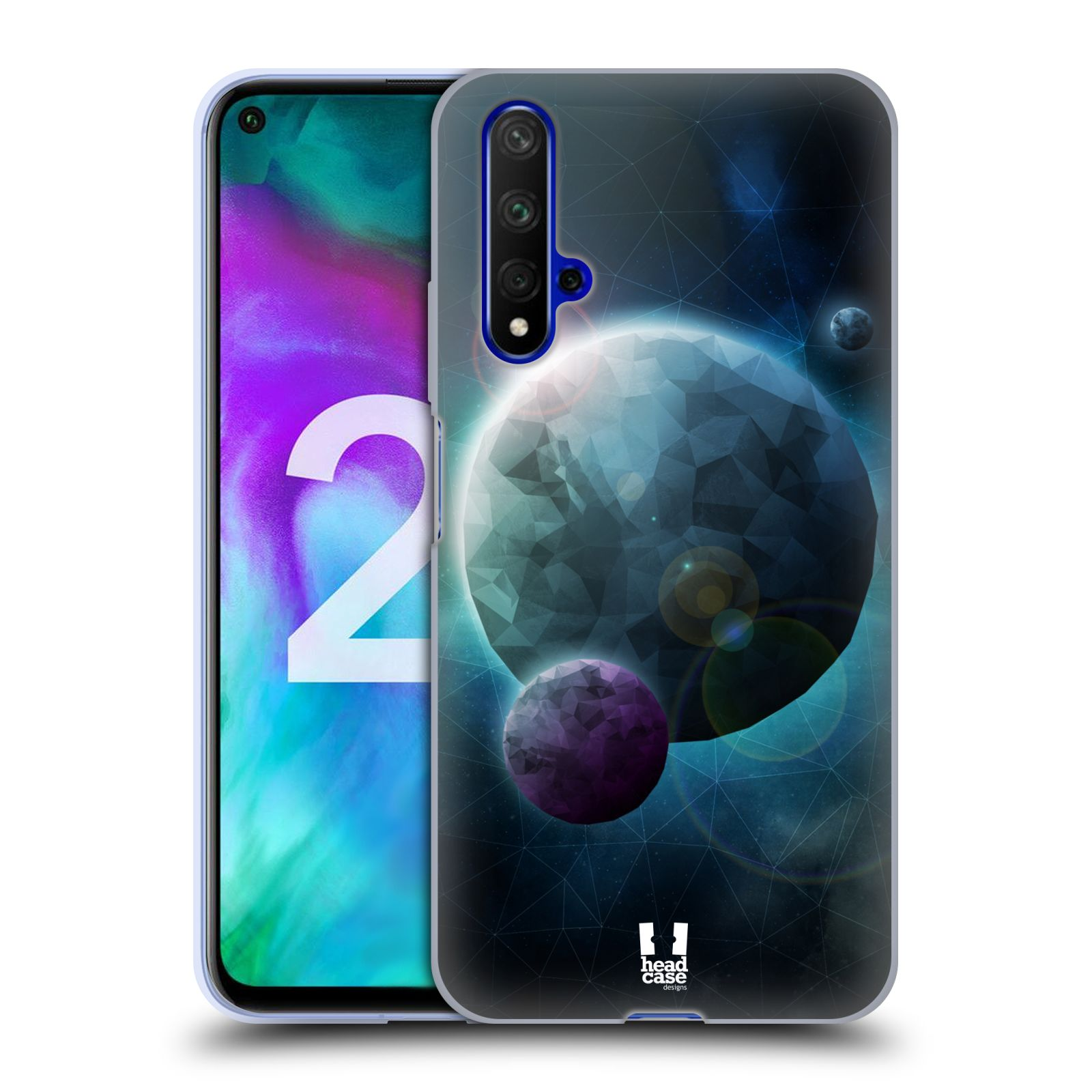 Silikonové pouzdro na mobil Honor 20 - Head Case - UNIVERSE DISCOVER