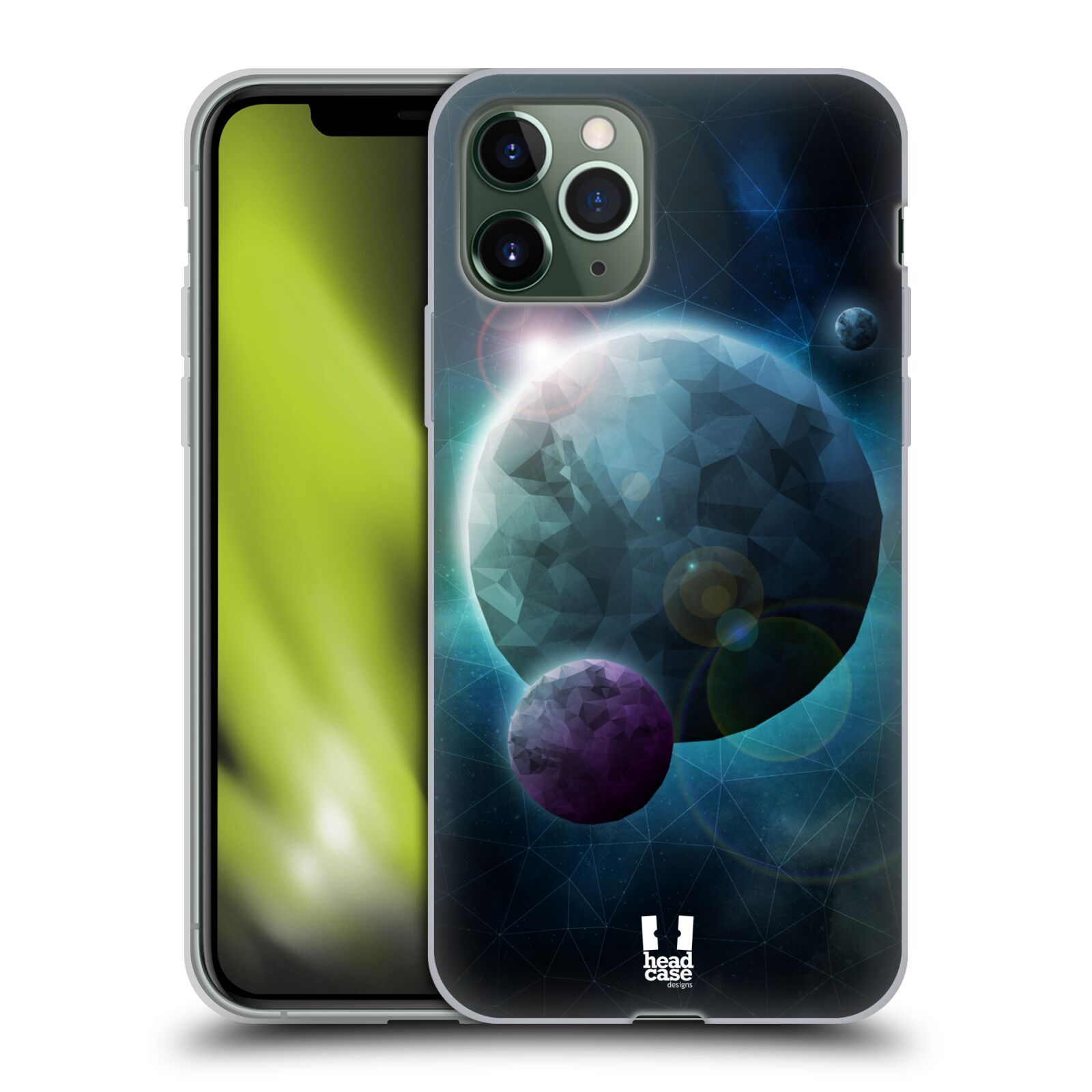 usb do auta - Silikonové pouzdro na mobil Apple iPhone 11 Pro - Head Case - UNIVERSE DISCOVER