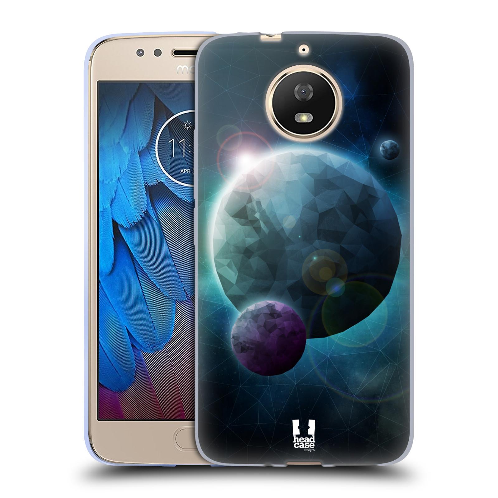 Silikonové pouzdro na mobil Lenovo Moto G5s - Head Case - UNIVERSE DISCOVER