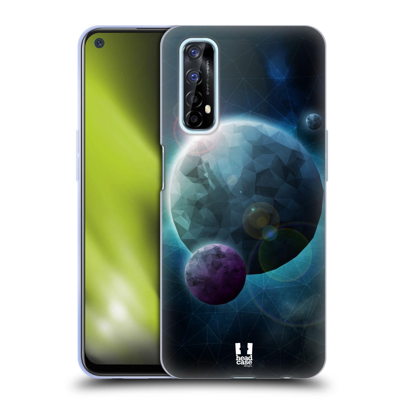 Silikonové pouzdro na mobil Realme 7 - Head Case - UNIVERSE DISCOVER
