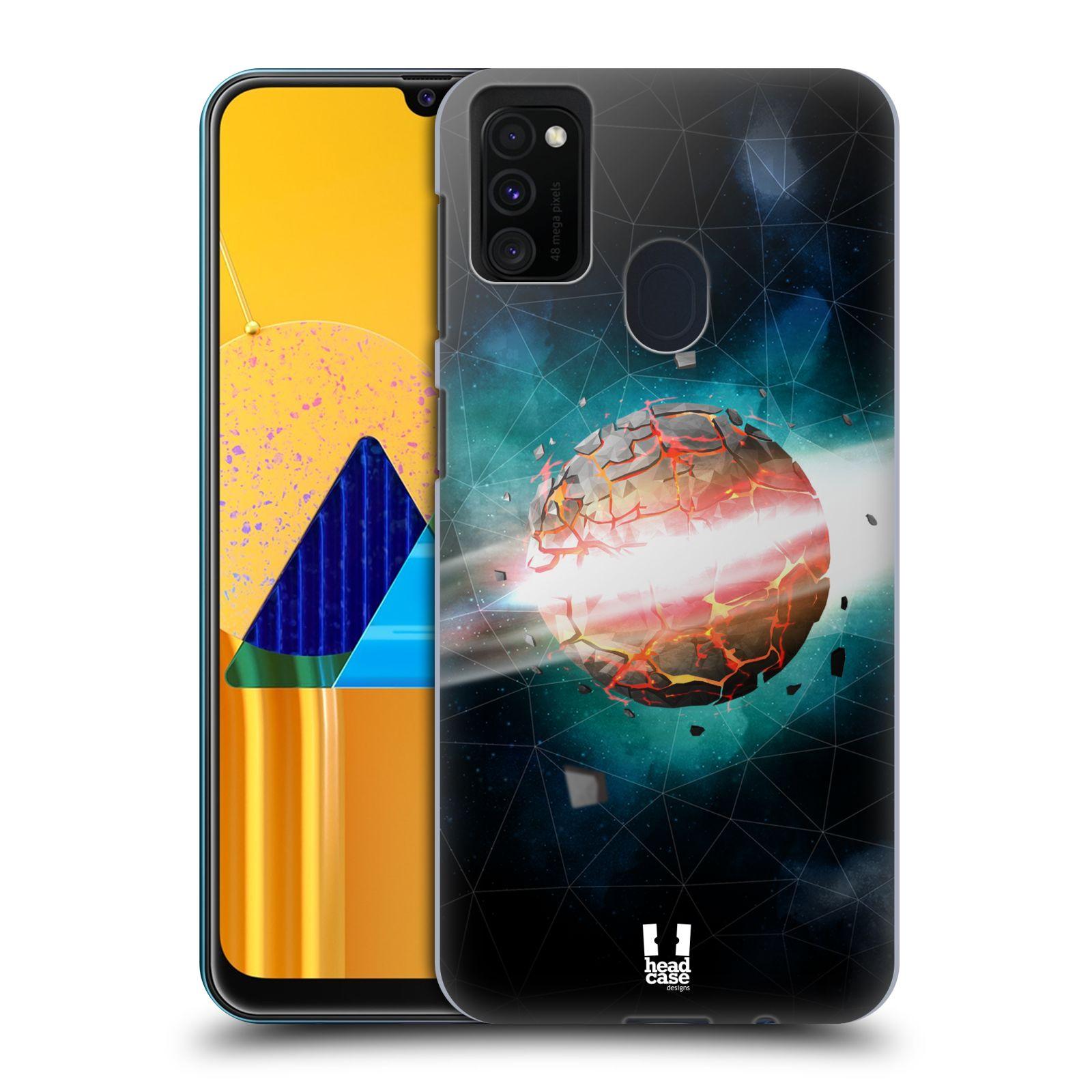 Plastové pouzdro na mobil Samsung Galaxy M21 - Head Case - UNIVERSE EXPLOSION
