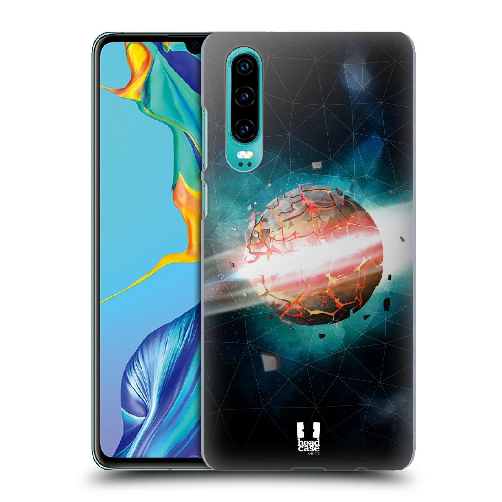 Plastové pouzdro na mobil Huawei P30 - Head Case - UNIVERSE EXPLOSION