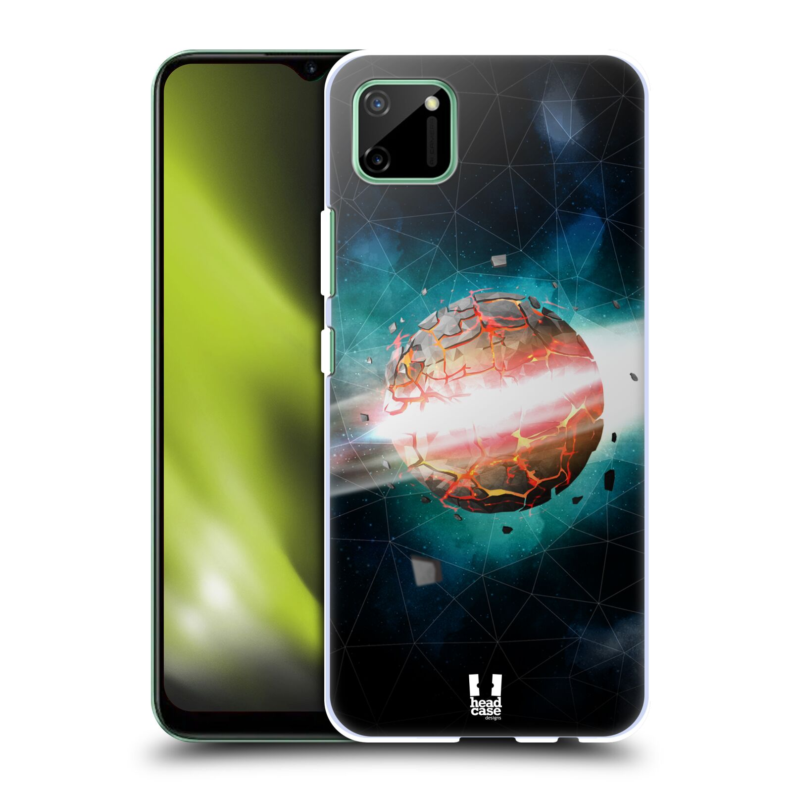 Plastové pouzdro na mobil Realme C11 - Head Case - UNIVERSE EXPLOSION