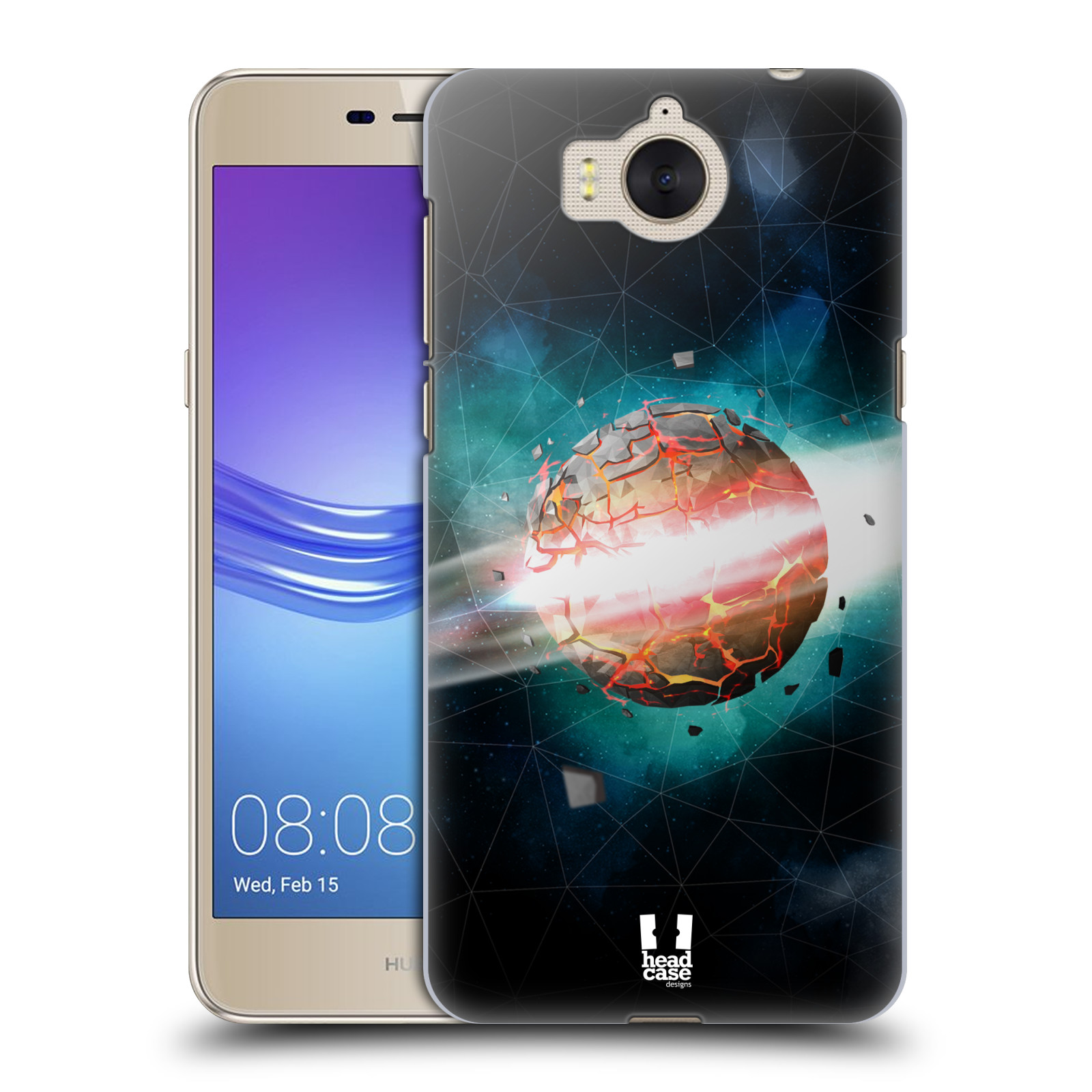 Plastové pouzdro na mobil Huawei Y6 2017 - Head Case - UNIVERSE EXPLOSION