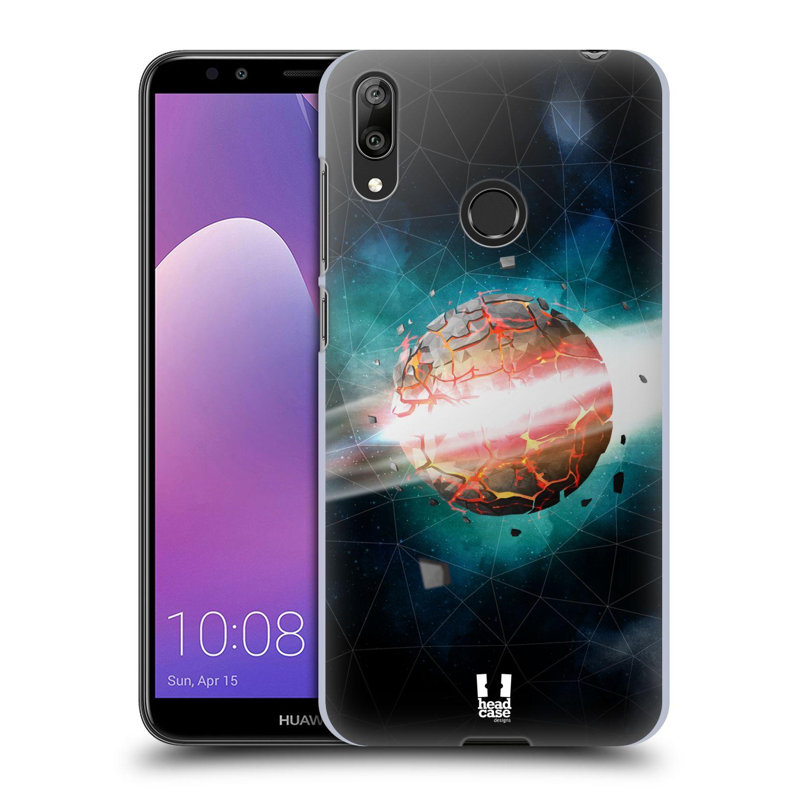 Plastové pouzdro na mobil Huawei Y7 (2019) - Head Case - UNIVERSE EXPLOSION