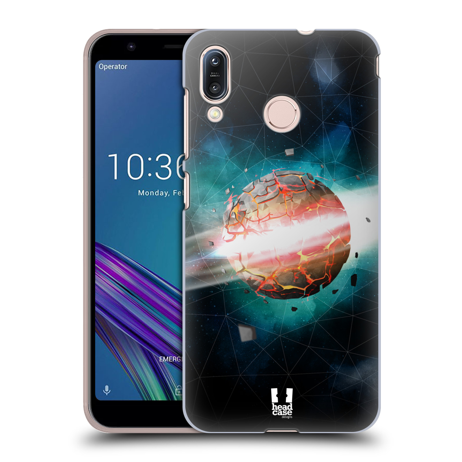 Plastové pouzdro na mobil Asus Zenfone Max M1 ZB555KL - Head Case - UNIVERSE EXPLOSION