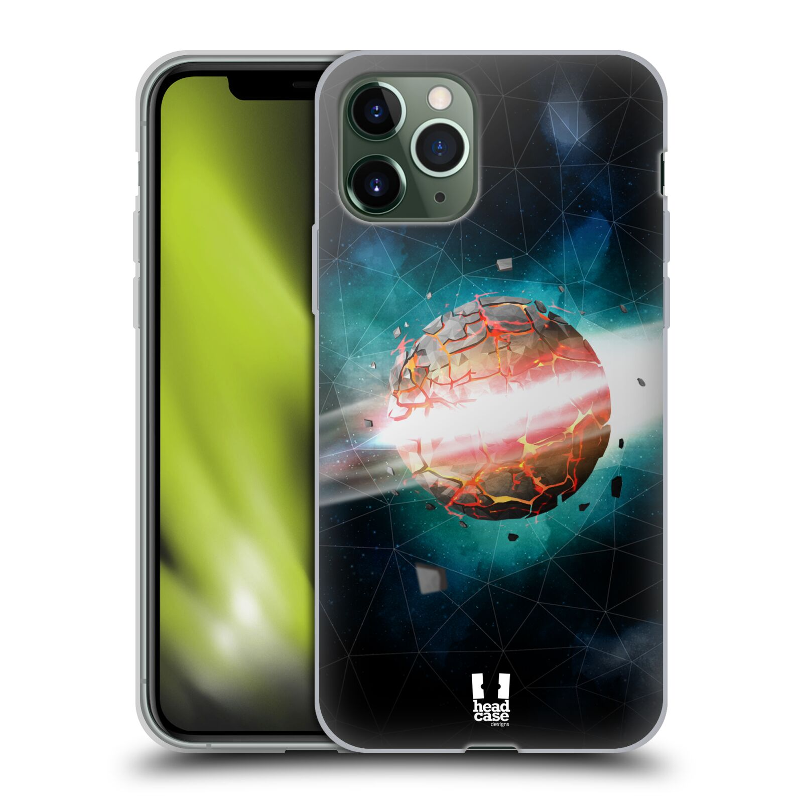 iphone 6s kryty apple , Silikonové pouzdro na mobil Apple iPhone 11 Pro - Head Case - UNIVERSE EXPLOSION
