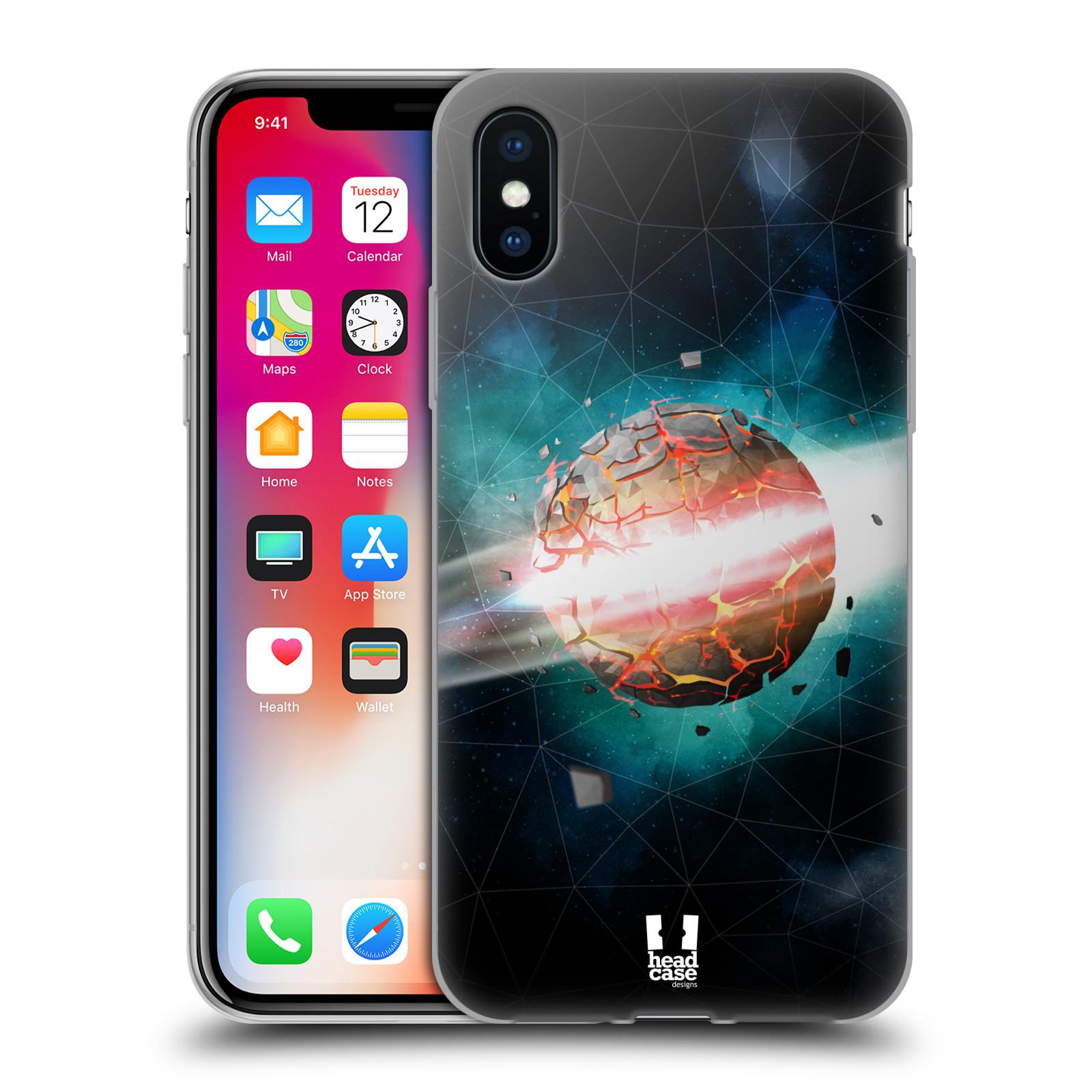 Silikonové pouzdro na mobil Apple iPhone XS - Head Case - UNIVERSE EXPLOSION