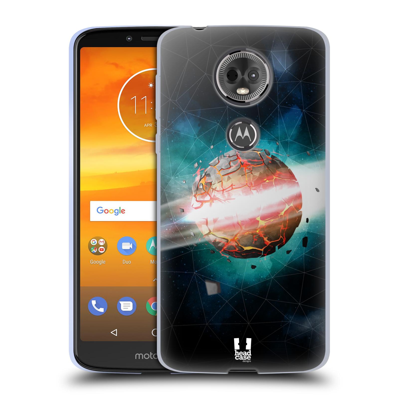 Silikonové pouzdro na mobil Motorola Moto E5 Plus - Head Case - UNIVERSE EXPLOSION