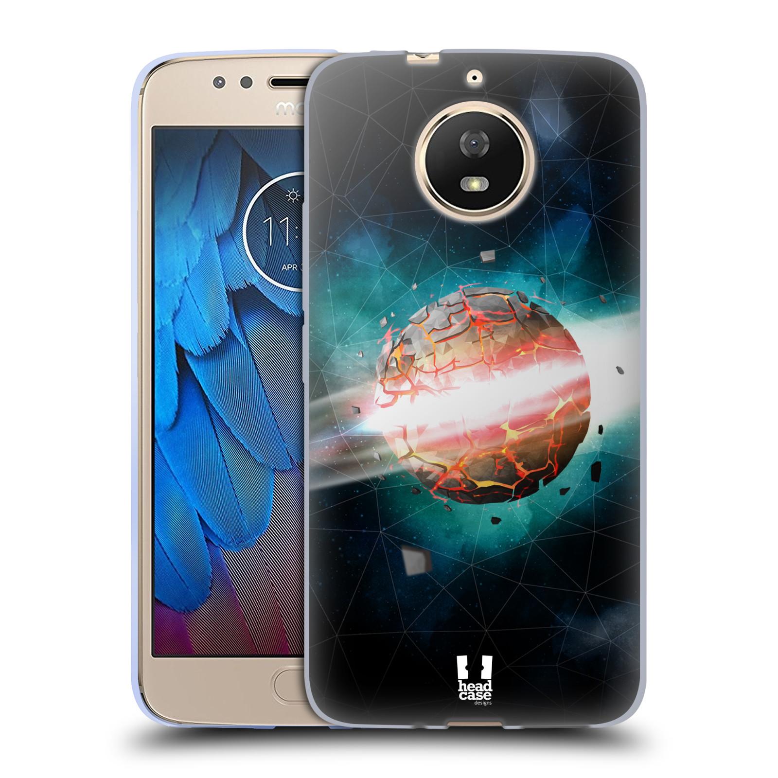 Silikonové pouzdro na mobil Lenovo Moto G5s - Head Case - UNIVERSE EXPLOSION
