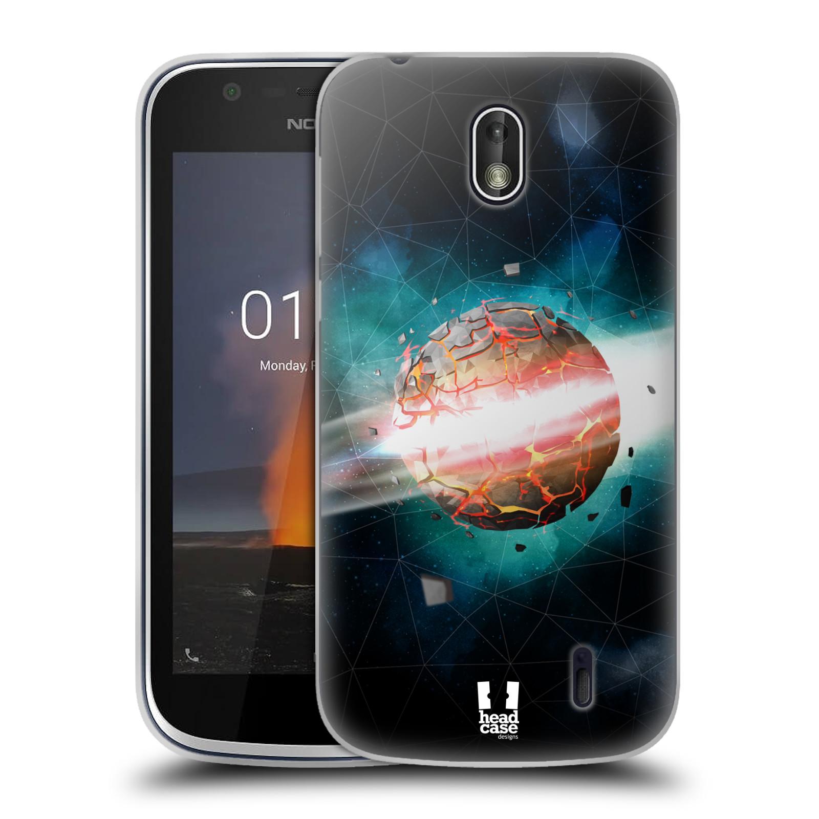 Silikonové pouzdro na mobil Nokia 1 - Head Case - UNIVERSE EXPLOSION