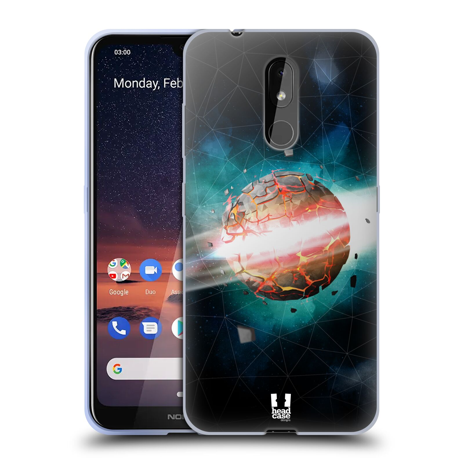 Silikonové pouzdro na mobil Nokia 3.2 - Head Case - UNIVERSE EXPLOSION
