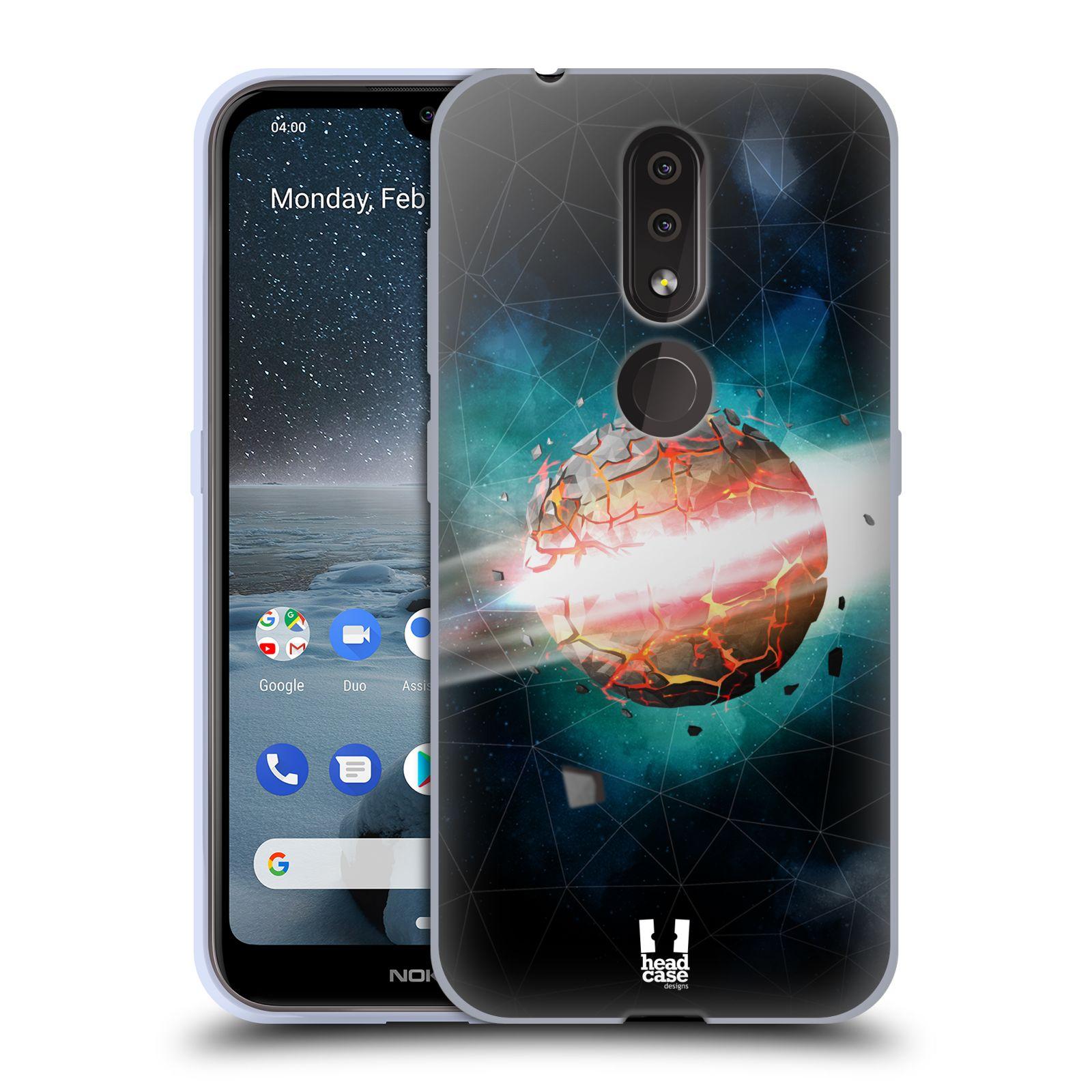 Silikonové pouzdro na mobil Nokia 4.2 - Head Case - UNIVERSE EXPLOSION