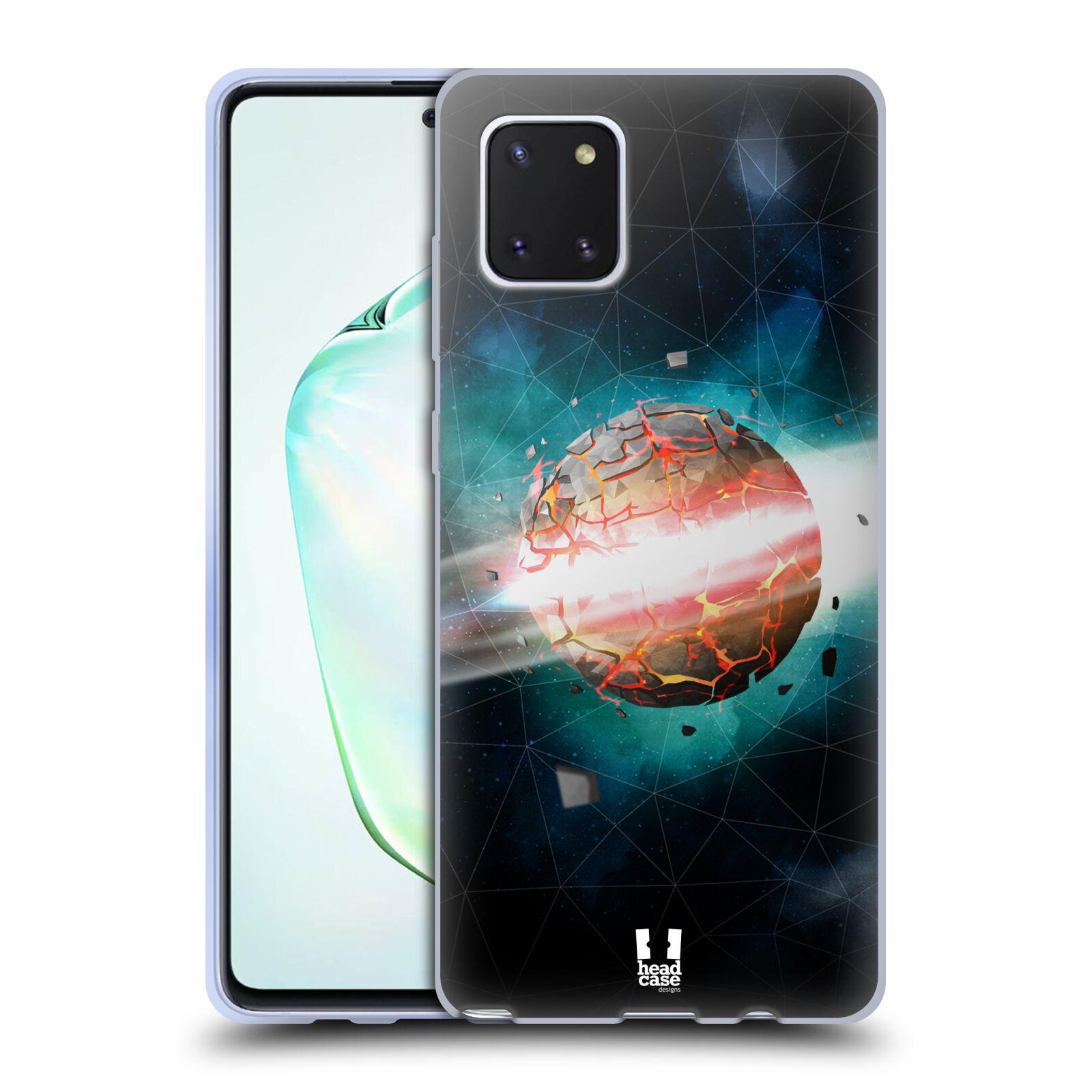 Silikonové pouzdro na mobil Samsung Galaxy Note 10 Lite - Head Case - UNIVERSE EXPLOSION
