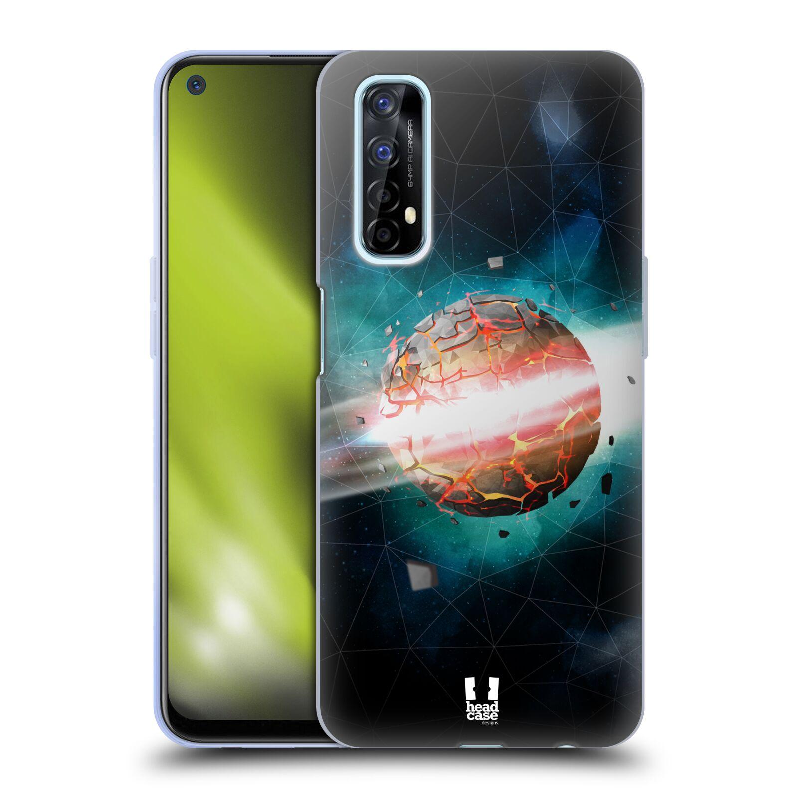 Silikonové pouzdro na mobil Realme 7 - Head Case - UNIVERSE EXPLOSION