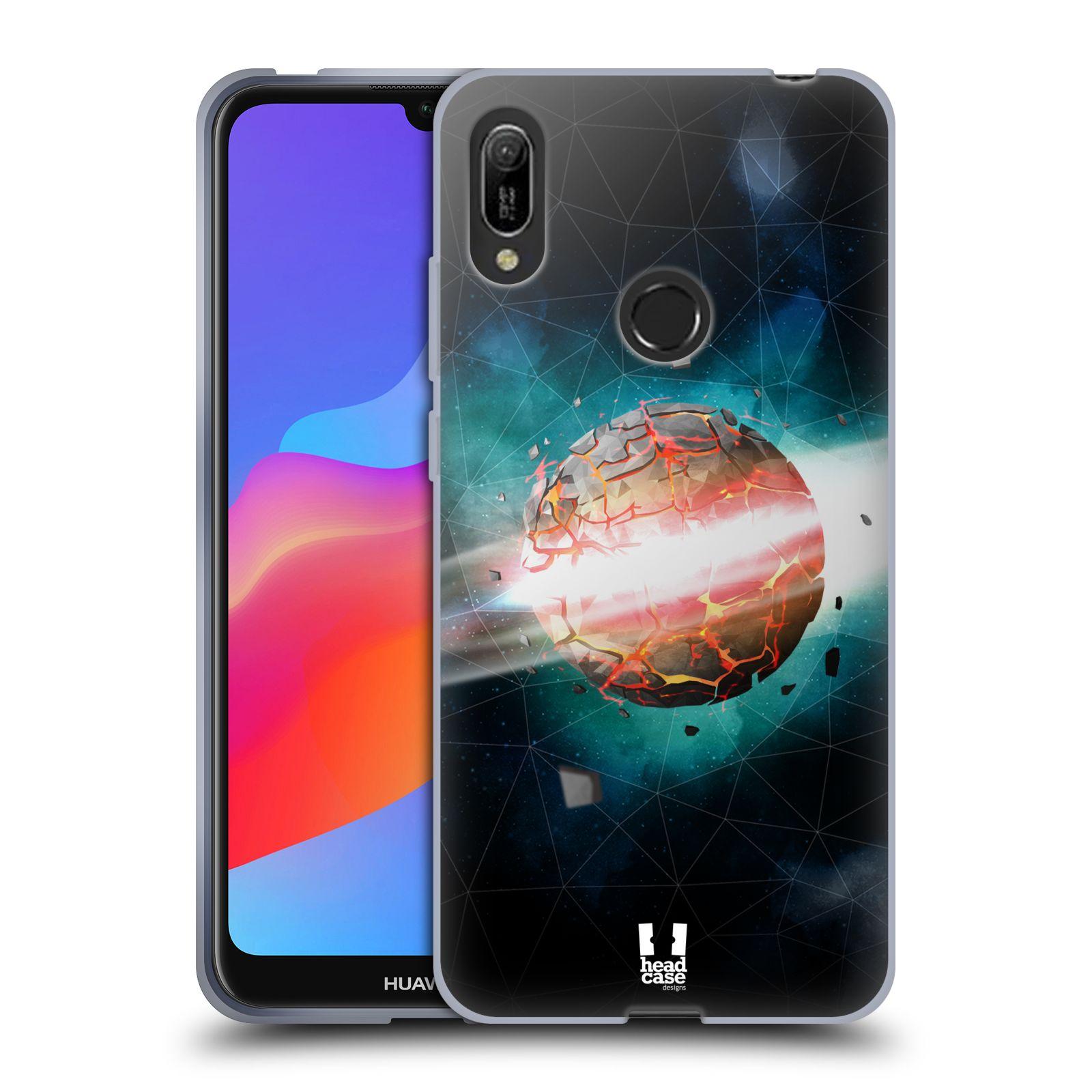 Silikonové pouzdro na mobil Huawei Y6 (2019) - Head Case - UNIVERSE EXPLOSION