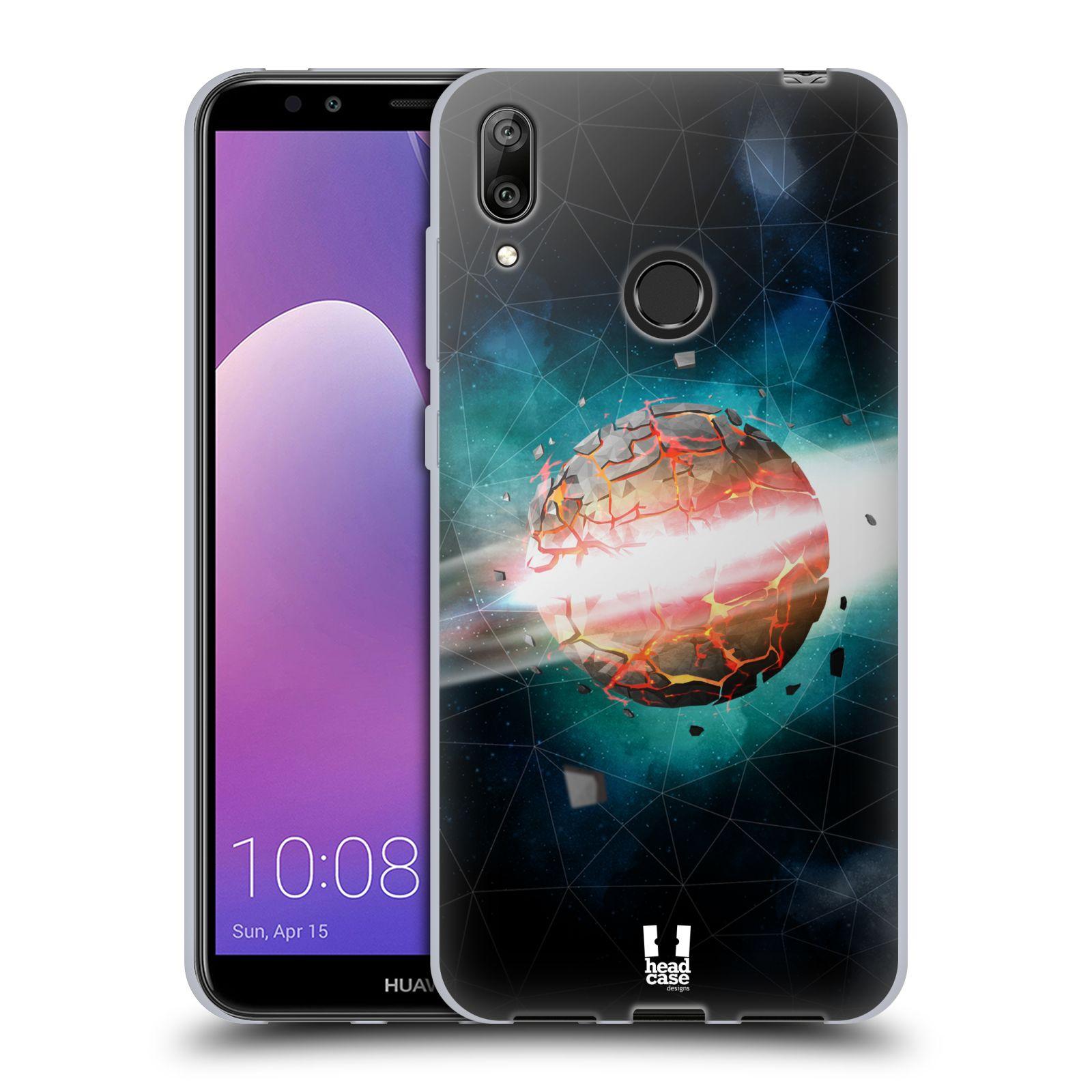 Silikonové pouzdro na mobil Huawei Y7 (2019) - Head Case - UNIVERSE EXPLOSION