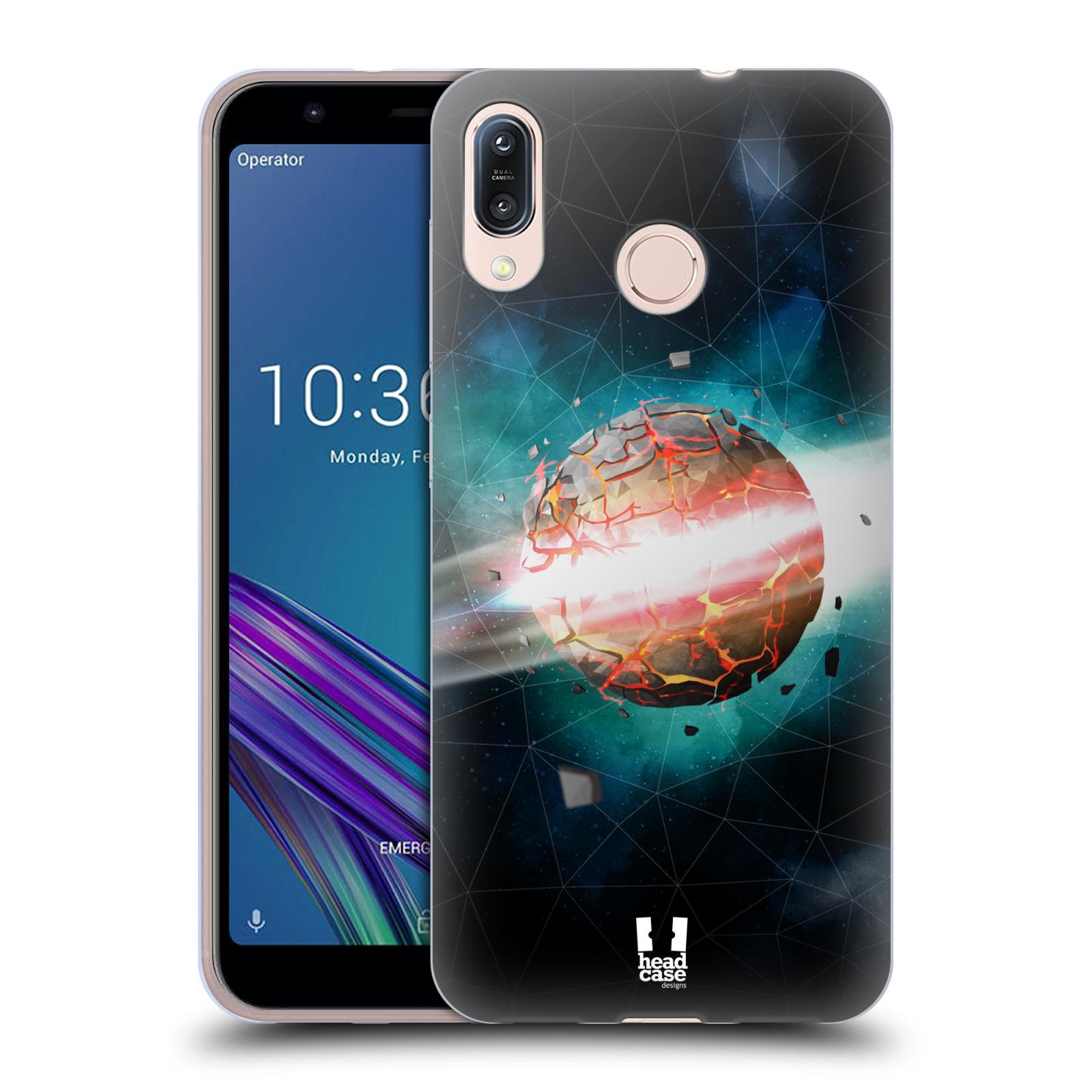 Silikonové pouzdro na mobil Asus Zenfone Max M1 ZB555KL - Head Case - UNIVERSE EXPLOSION