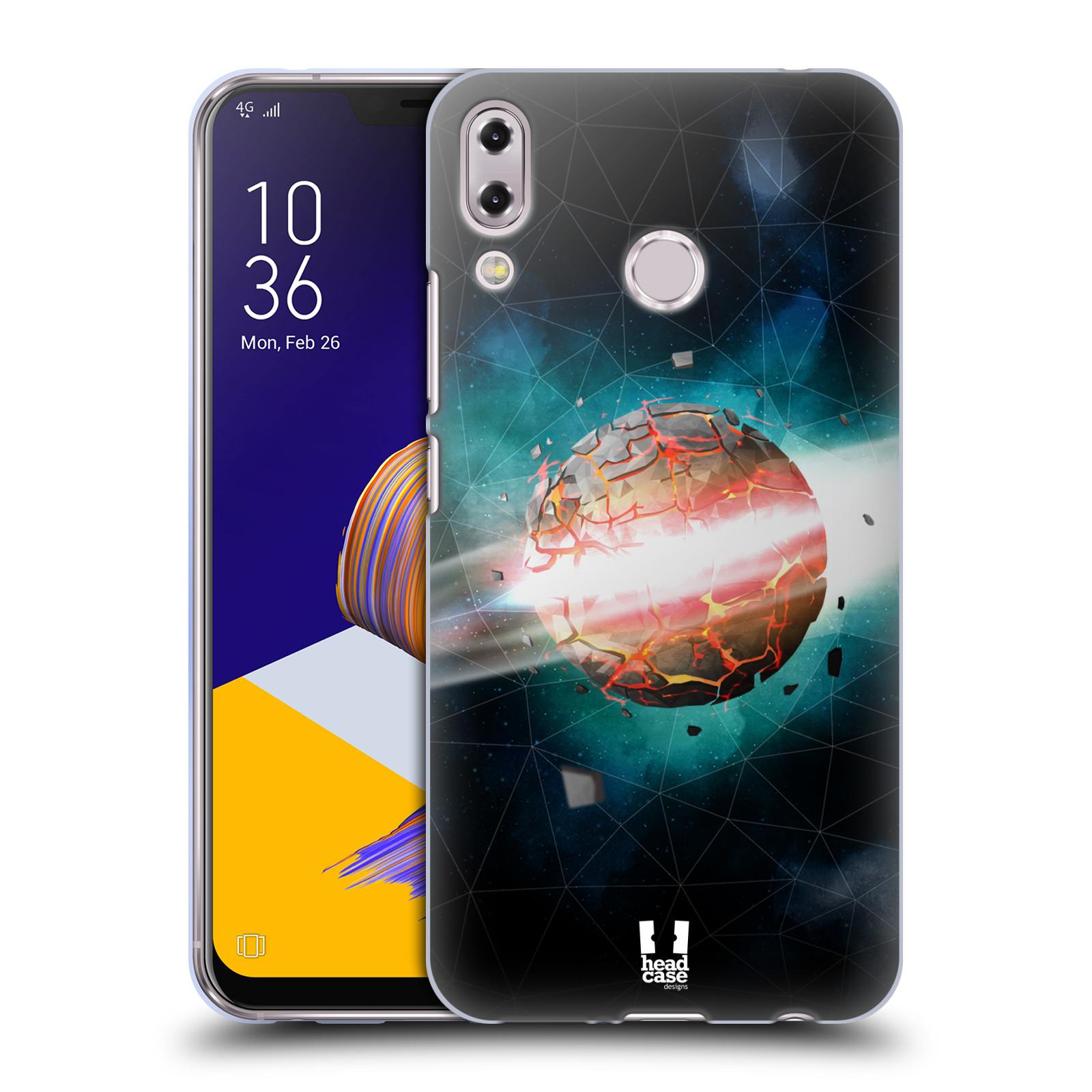 Silikonové pouzdro na mobil Asus Zenfone 5z ZS620KL - Head Case - UNIVERSE EXPLOSION