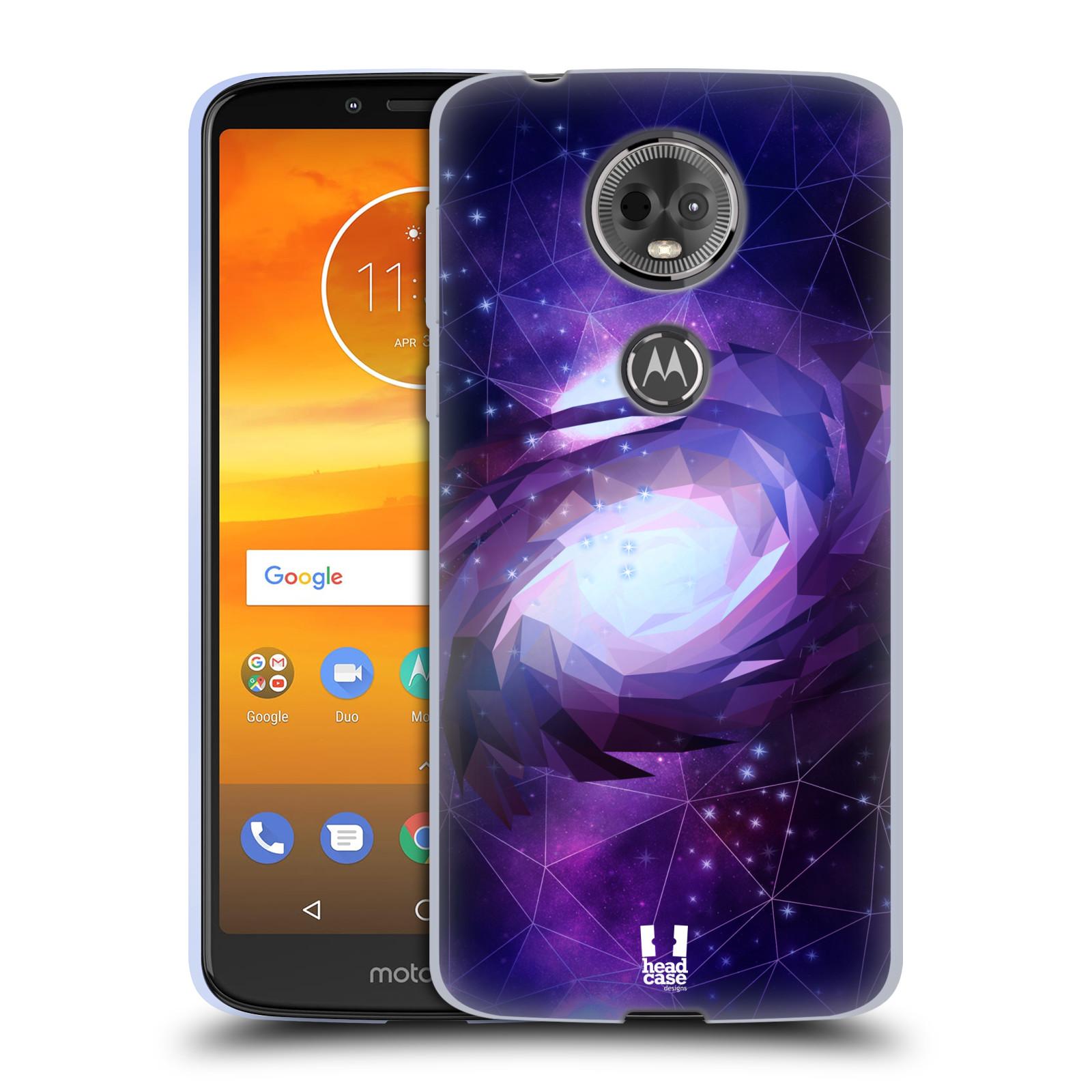 Silikonové pouzdro na mobil Motorola Moto E5 Plus - Head Case - UNIVERSE SPIRAL