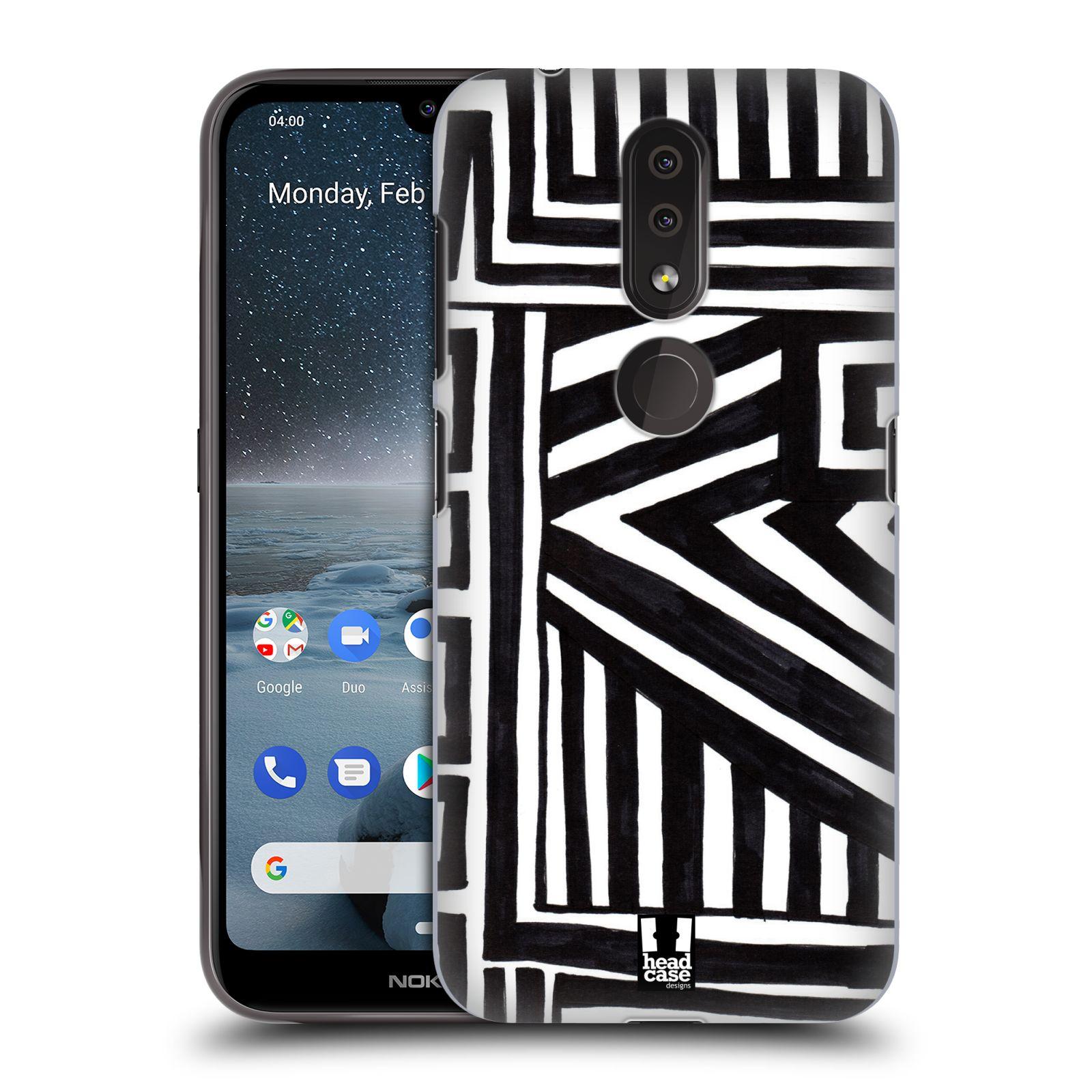 Plastové pouzdro na mobil Nokia 4.2 - Head Case - DOODLE GEOMETRIC
