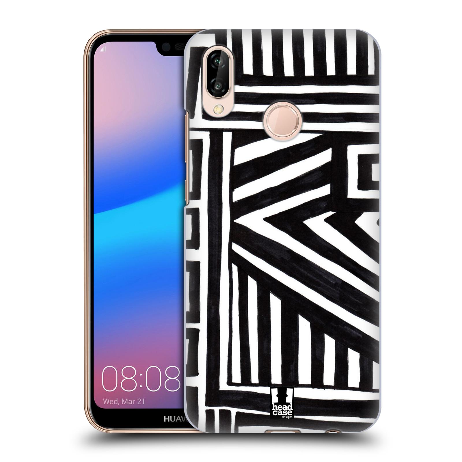 Plastové pouzdro na mobil Huawei P20 Lite - Head Case - DOODLE GEOMETRIC