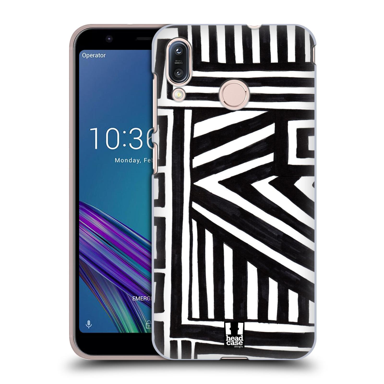 Plastové pouzdro na mobil Asus Zenfone Max M1 ZB555KL - Head Case - DOODLE GEOMETRIC