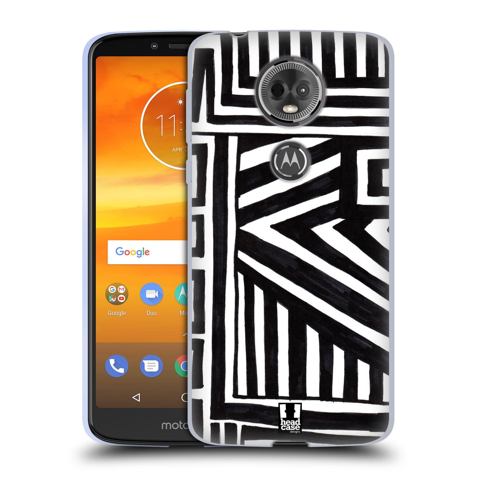 Silikonové pouzdro na mobil Motorola Moto E5 Plus - Head Case - DOODLE GEOMETRIC