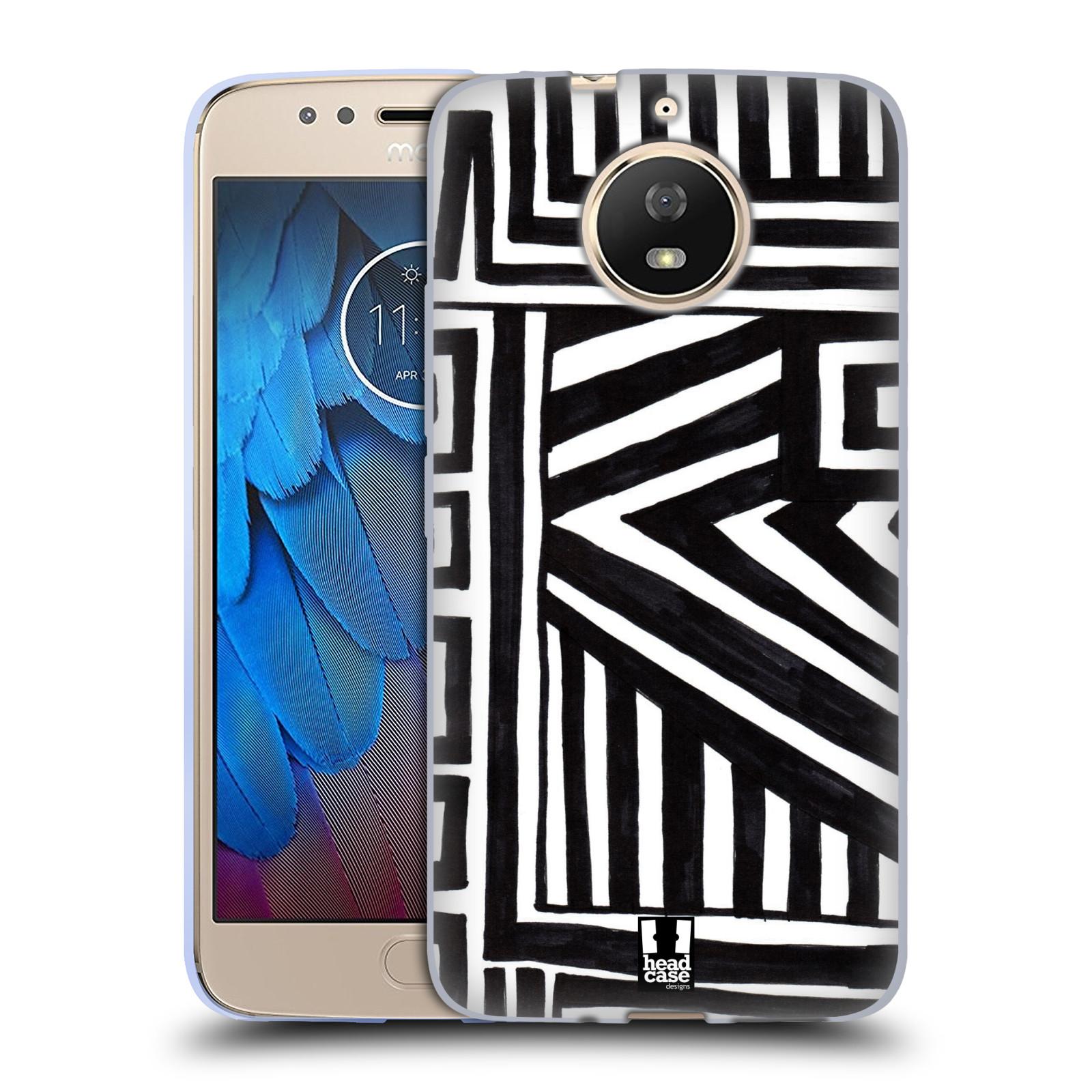 Silikonové pouzdro na mobil Lenovo Moto G5s - Head Case - DOODLE GEOMETRIC