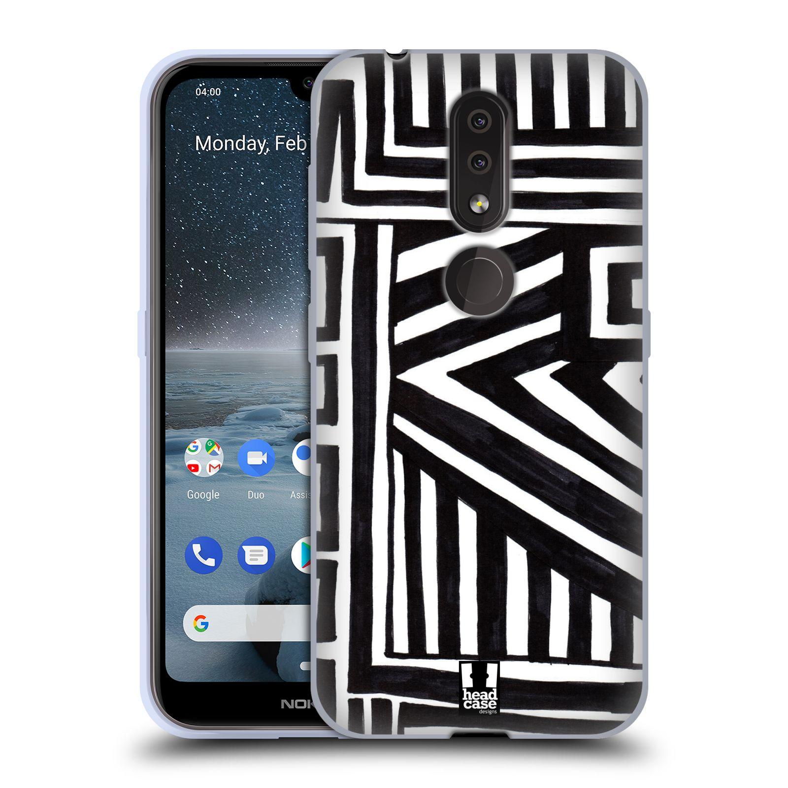 Silikonové pouzdro na mobil Nokia 4.2 - Head Case - DOODLE GEOMETRIC