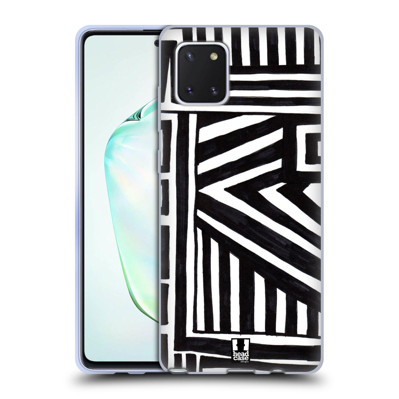 Silikonové pouzdro na mobil Samsung Galaxy Note 10 Lite - Head Case - DOODLE GEOMETRIC