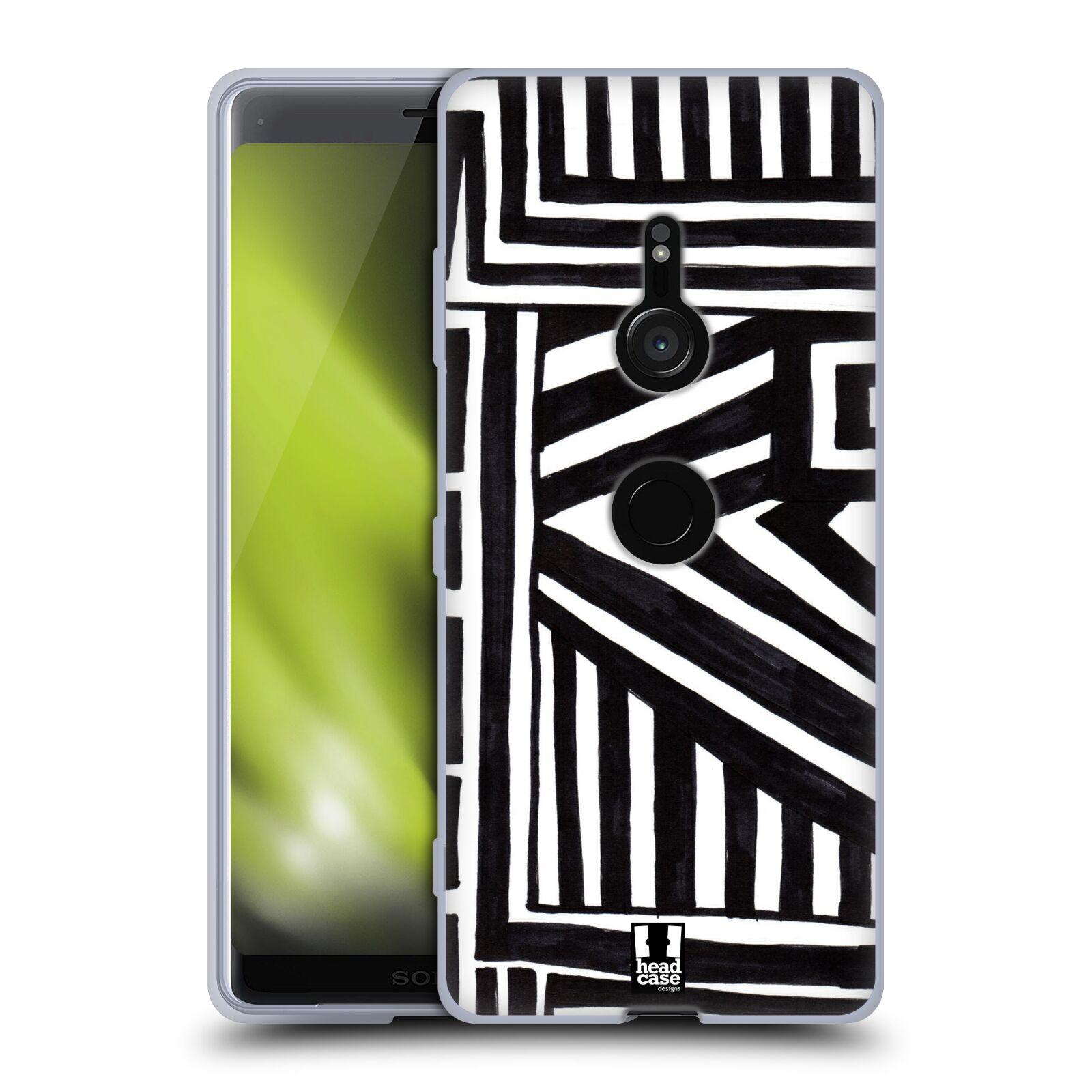 Silikonové pouzdro na mobil Sony Xperia XZ3 - Head Case - DOODLE GEOMETRIC