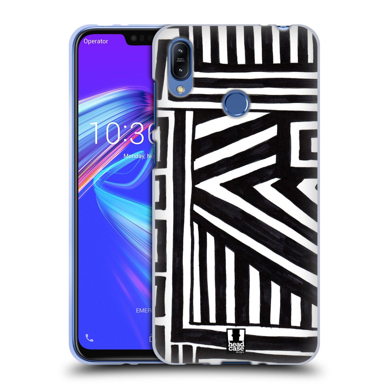 Silikonové pouzdro na mobil Asus Zenfone Max (M2) ZB633KL - Head Case - DOODLE GEOMETRIC