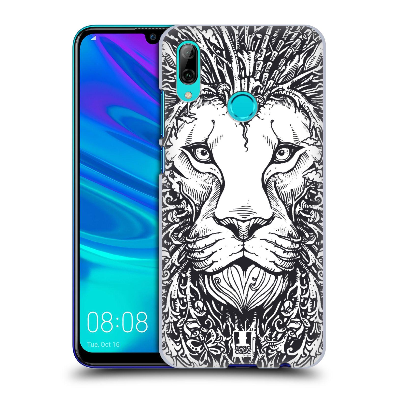 Plastové pouzdro na mobil Honor 10 Lite - Head Case - DOODLE TVÁŘ LEV