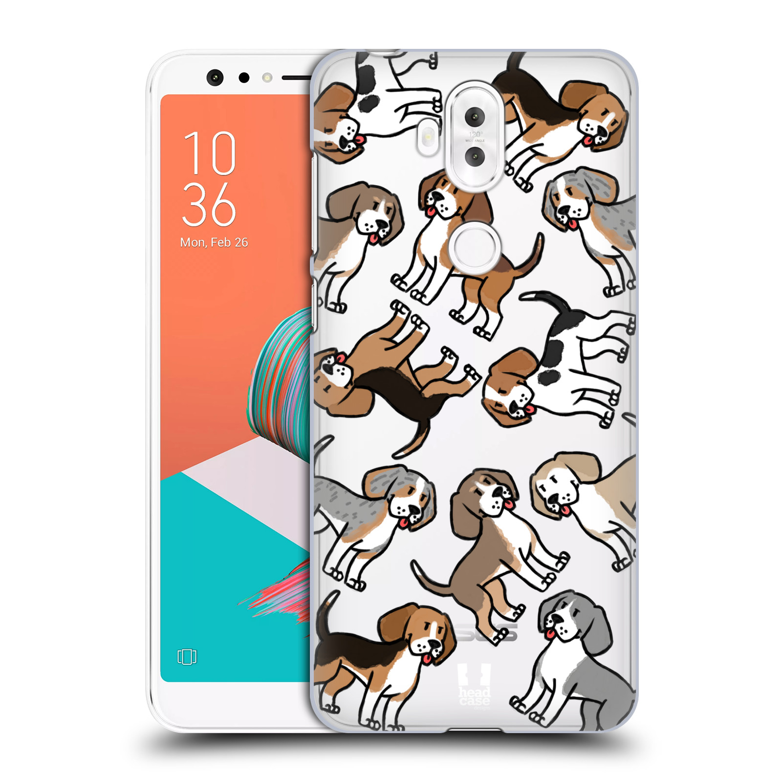 Plastové pouzdro na mobil Asus ZenFone 5 Lite ZC600KL - Head Case - Bíglové (Plastový kryt či obal na mobilní telefon Asus ZenFone 5 Lite (ZC600KL) s motivem Bíglové)