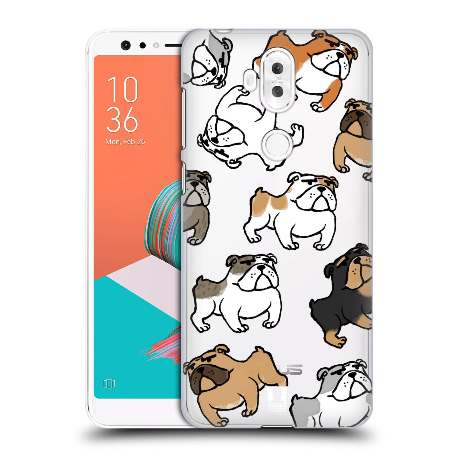 Plastové pouzdro na mobil Asus ZenFone 5 Lite ZC600KL - Head Case - Buldoci (Plastový kryt či obal na mobilní telefon Asus ZenFone 5 Lite (ZC600KL) s motivem Buldoci)
