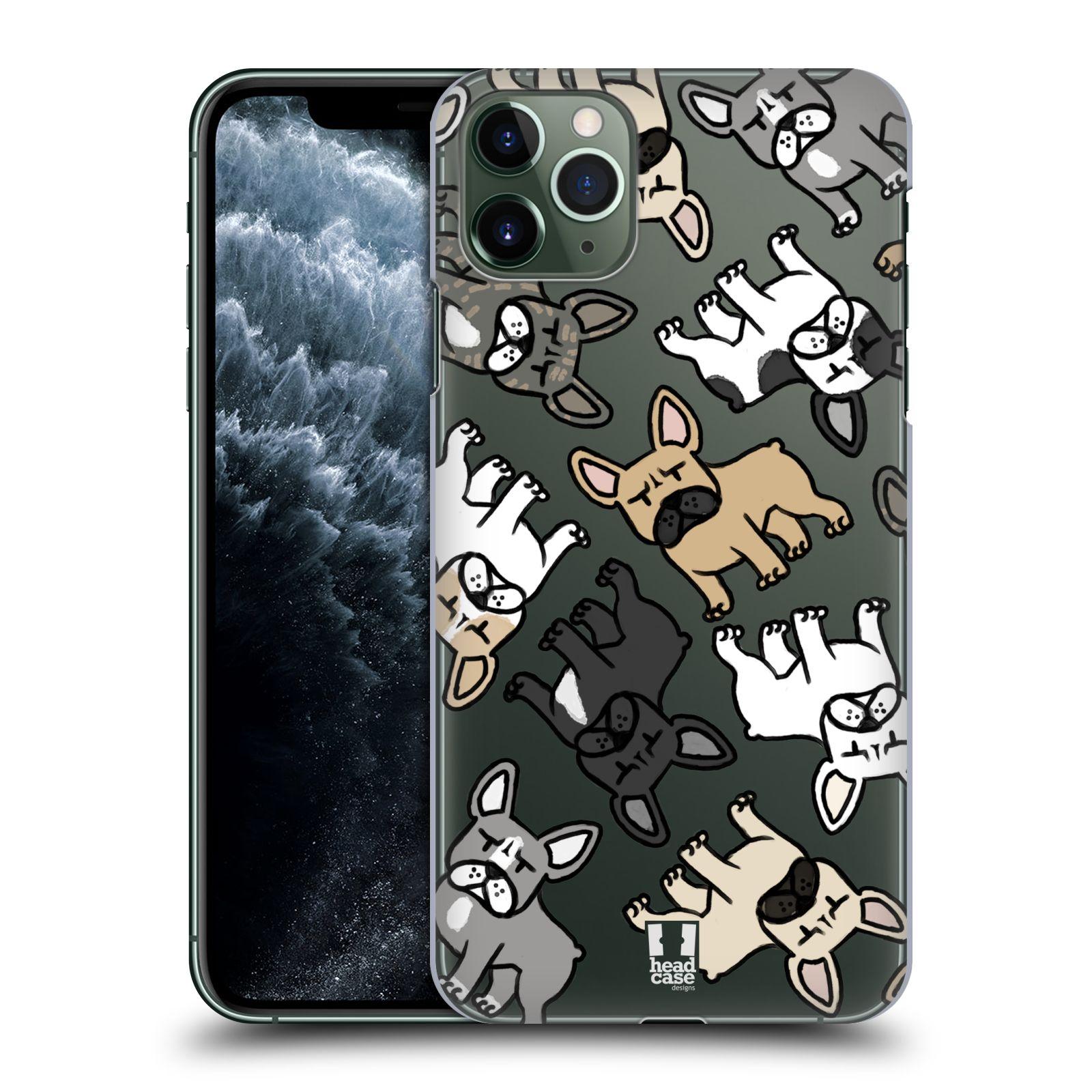 Plastové pouzdro na mobil Apple iPhone 11 Pro Max - Head Case - Francouzští buldočci