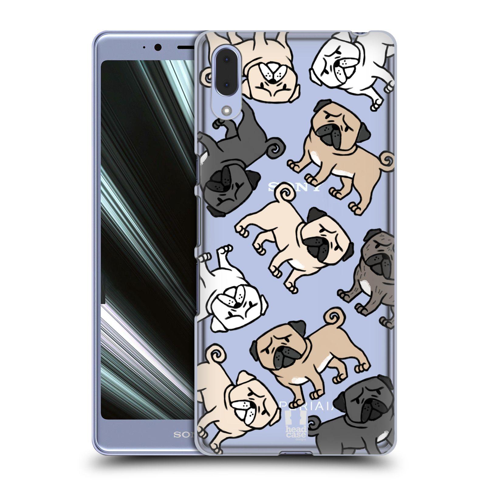 Plastové pouzdro na mobil Sony Xperia L3 - Head Case - Mopsíci
